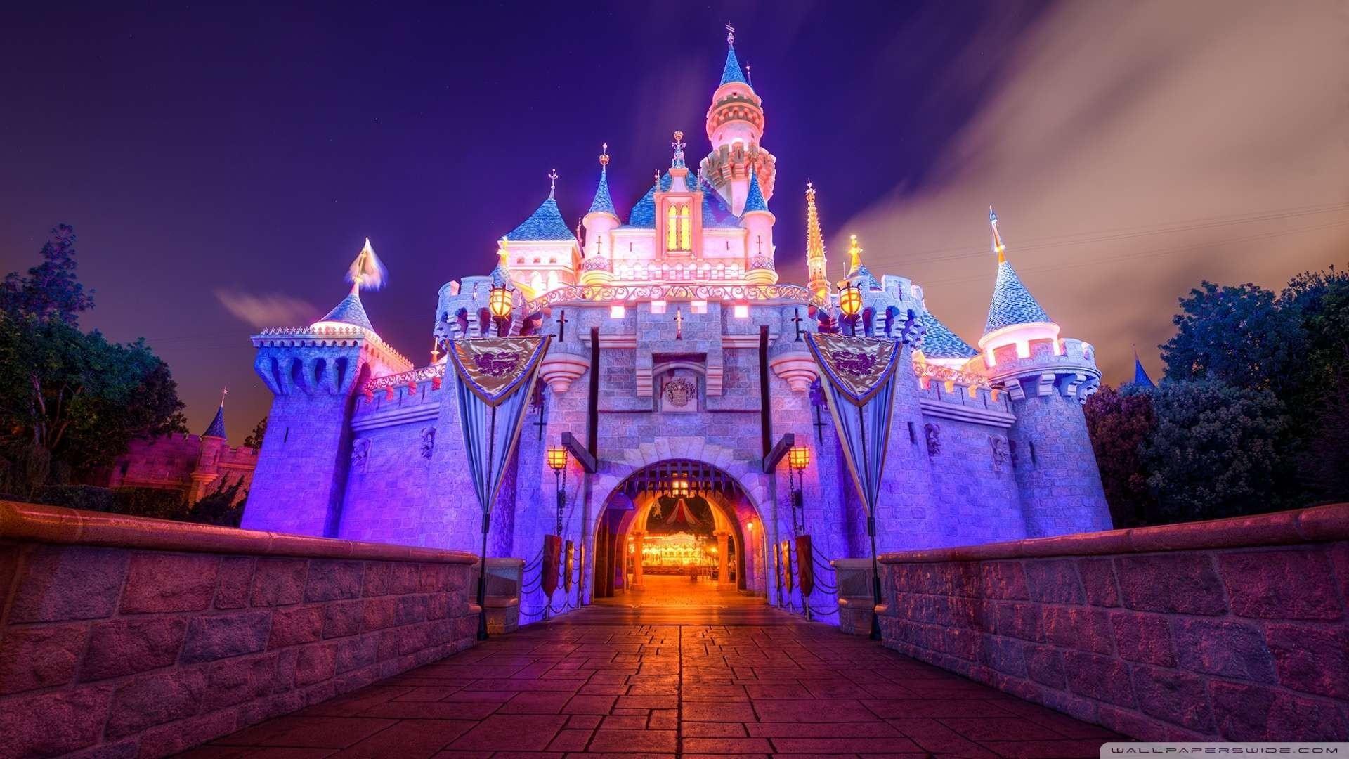 Disney Castle Wallpaper Hd 72 Images