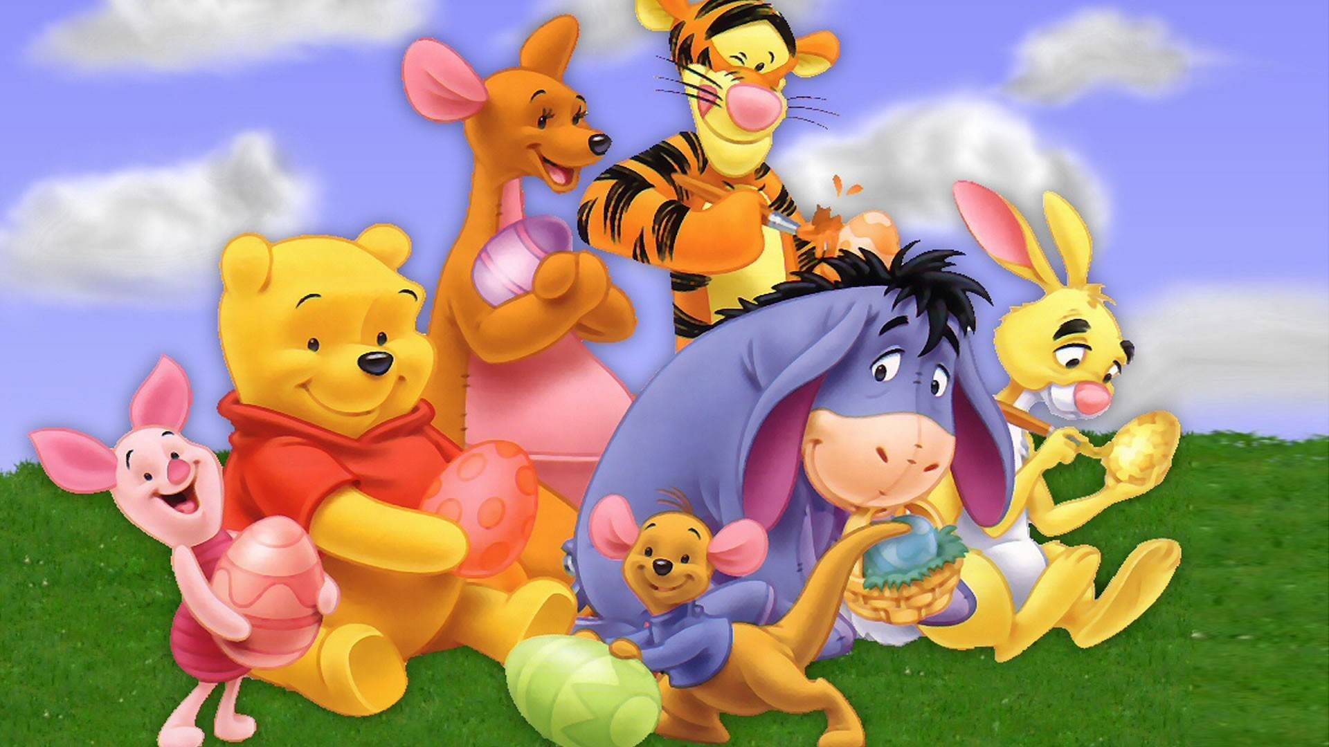 Winnie The Pooh Easter Wallpaper 64 Images