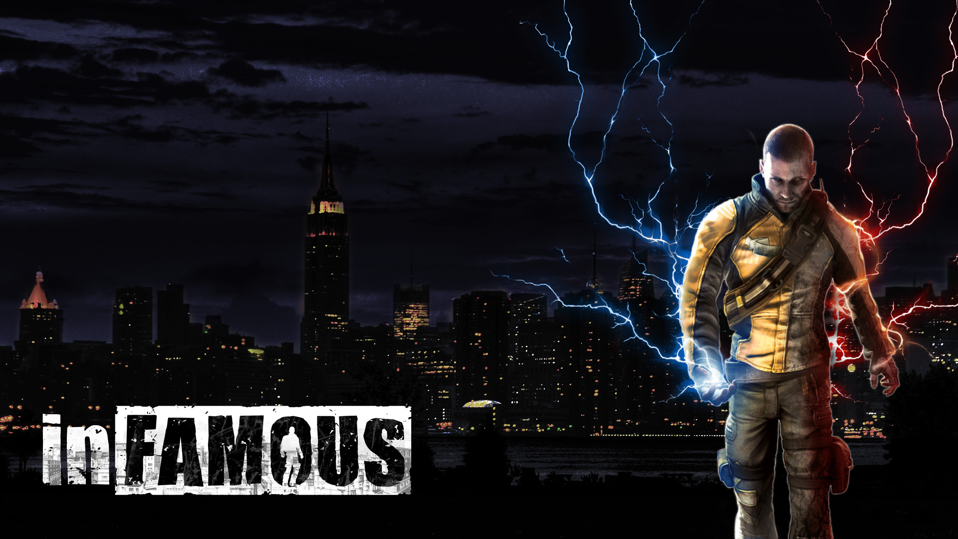 1920x1080 Infamous Wallpaper Hd