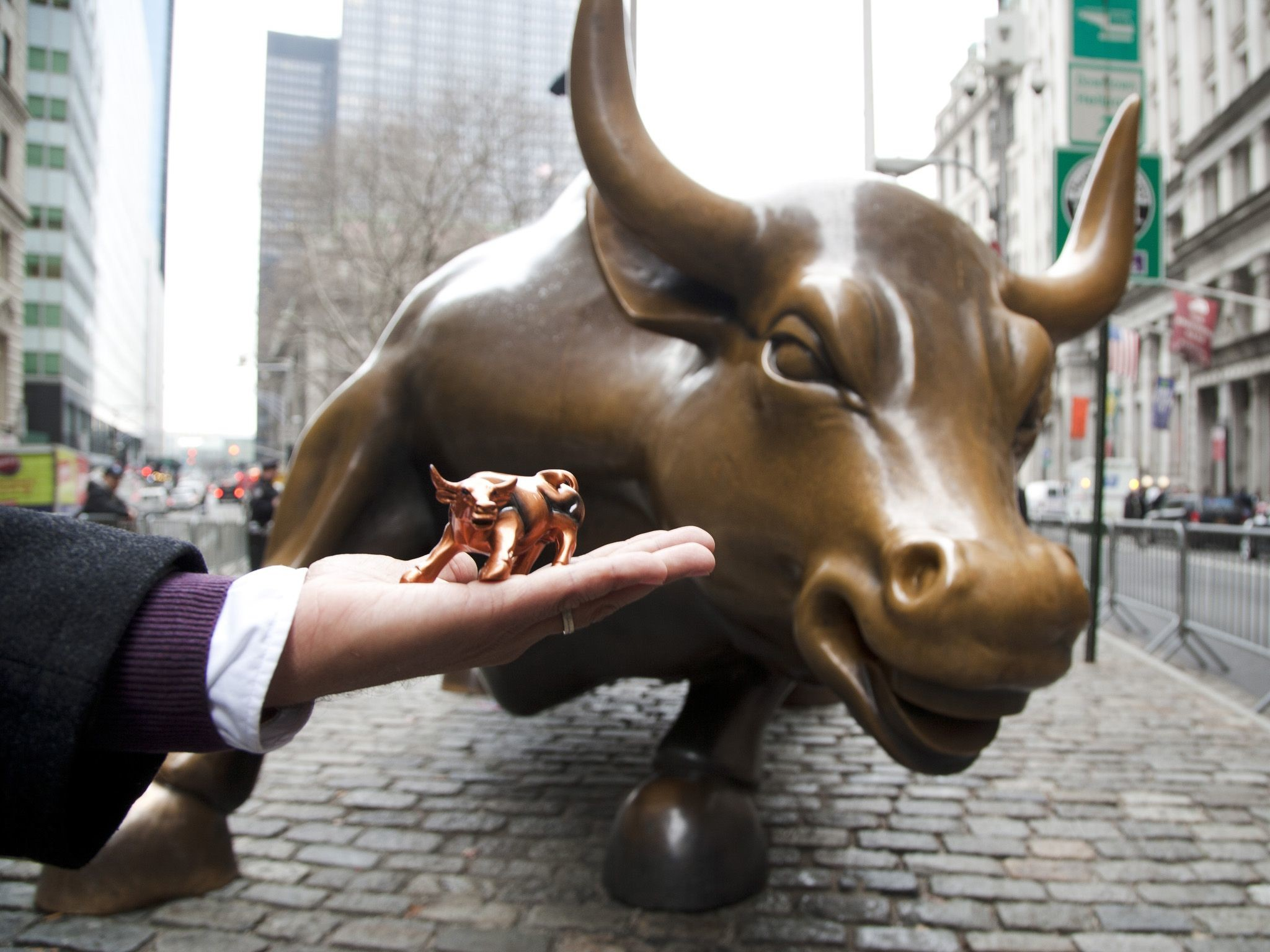 wall street bull wallpaper (61+ images)