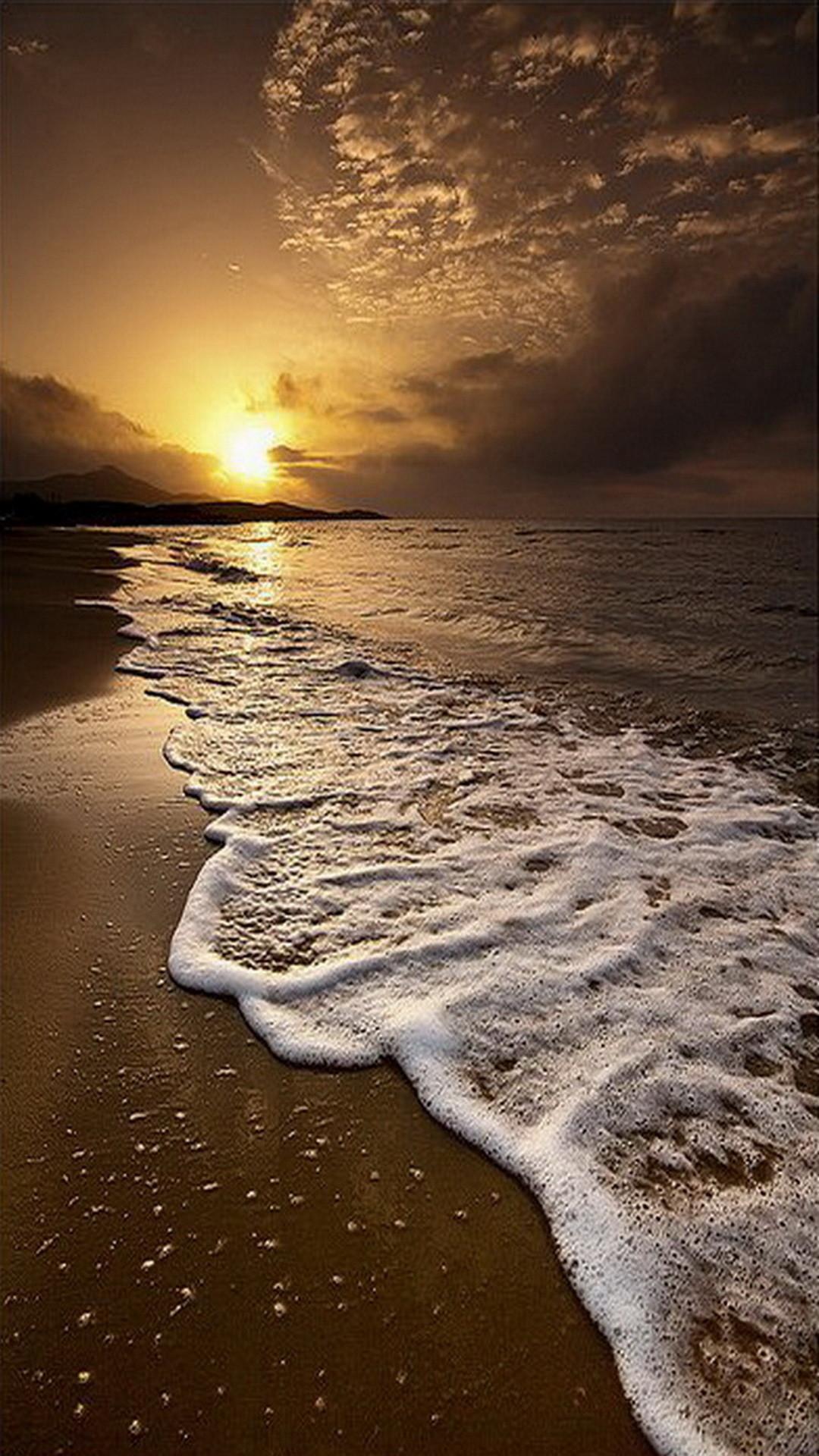 1080x1920 Sun Sea And Shore Mobile HD Wallpaper
