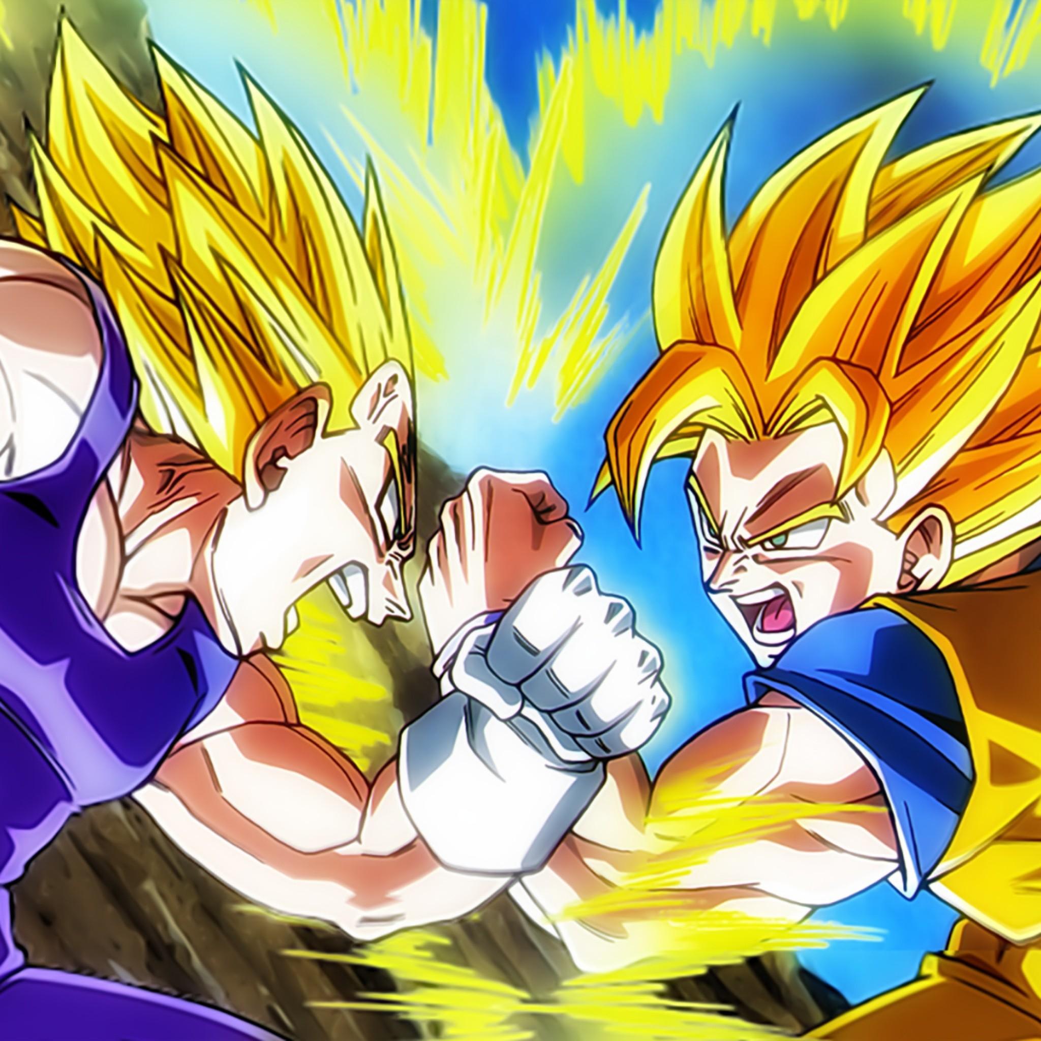 Goku Wallpaper Hd: Goku Vs Vegeta Wallpaper (65+ Images