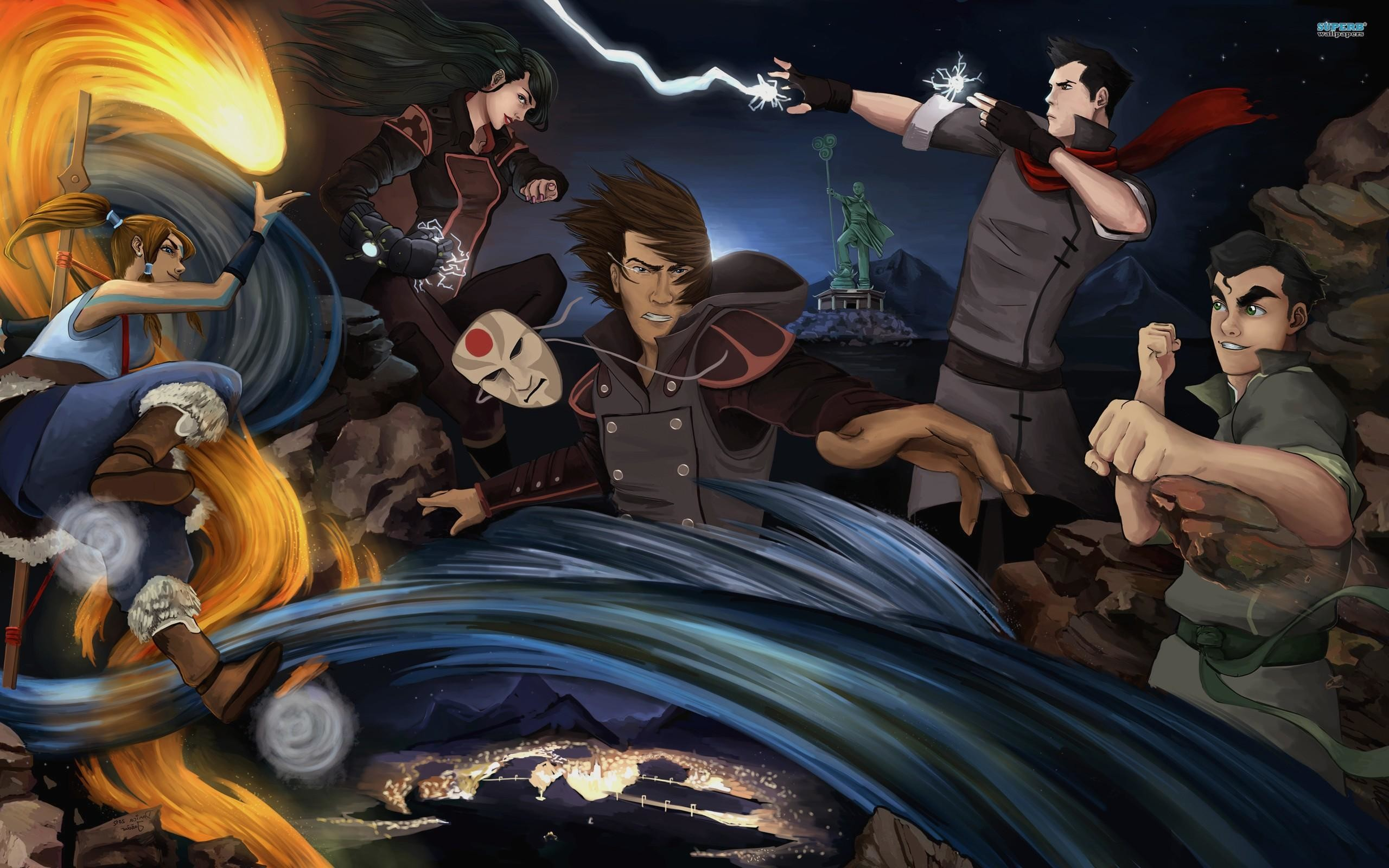 2560x1600 Avatar The Legend Of Korra desktop wallpaper