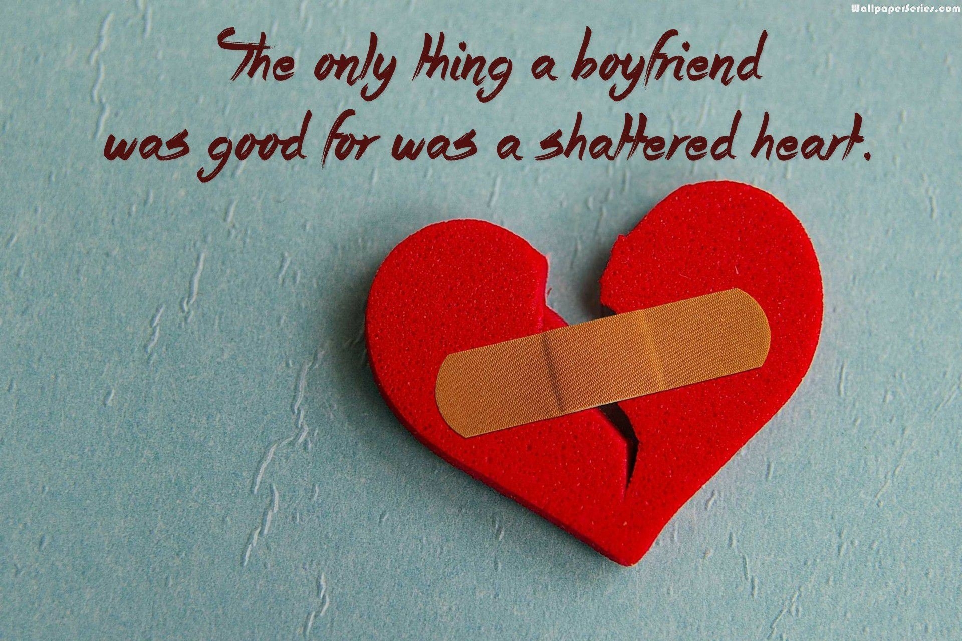 1920x1280 Boyfriend broken heart quotes wallpaper