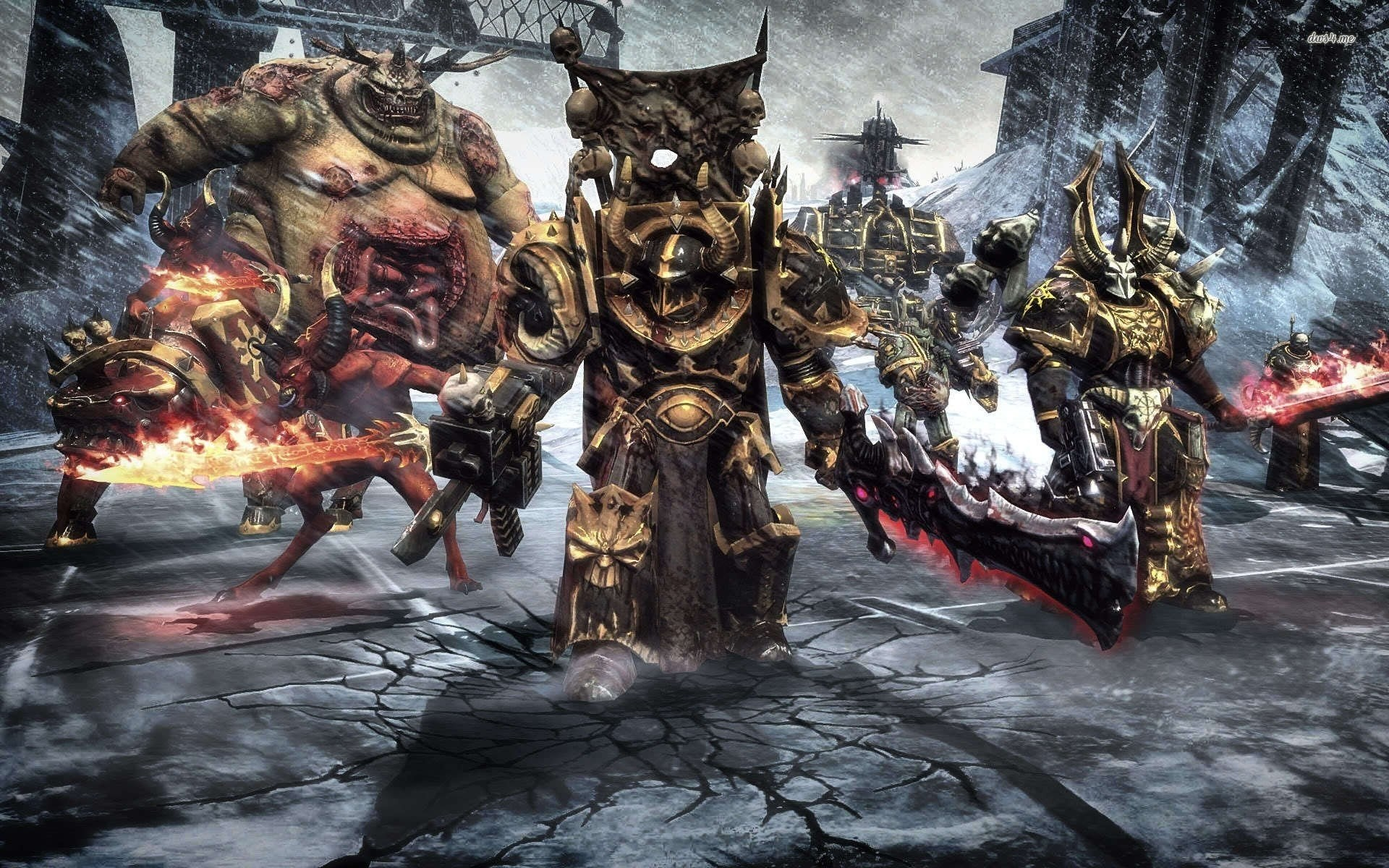 1920x1200 Chaos Space Marines - Warhammer 40 000 ...