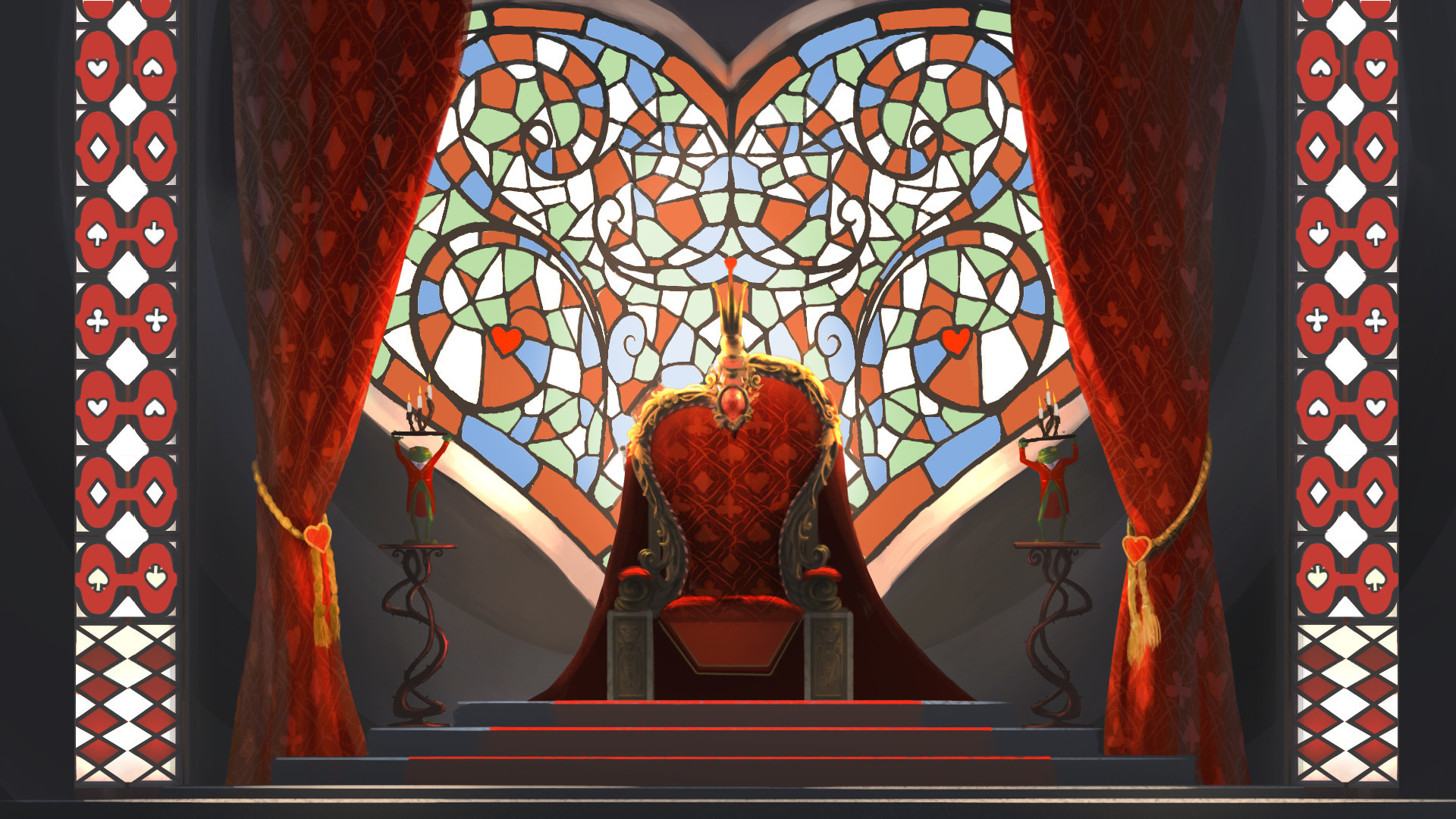 Queen Of Hearts Wallpaper 64 Images