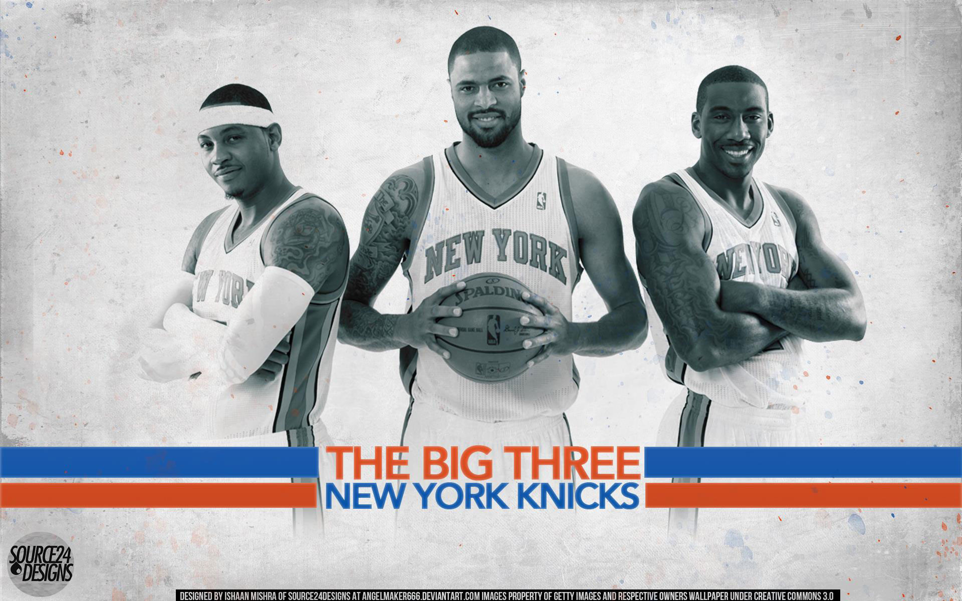 1920x1200 Knicks 2012 Big 3 1920×1200 Wallpaper