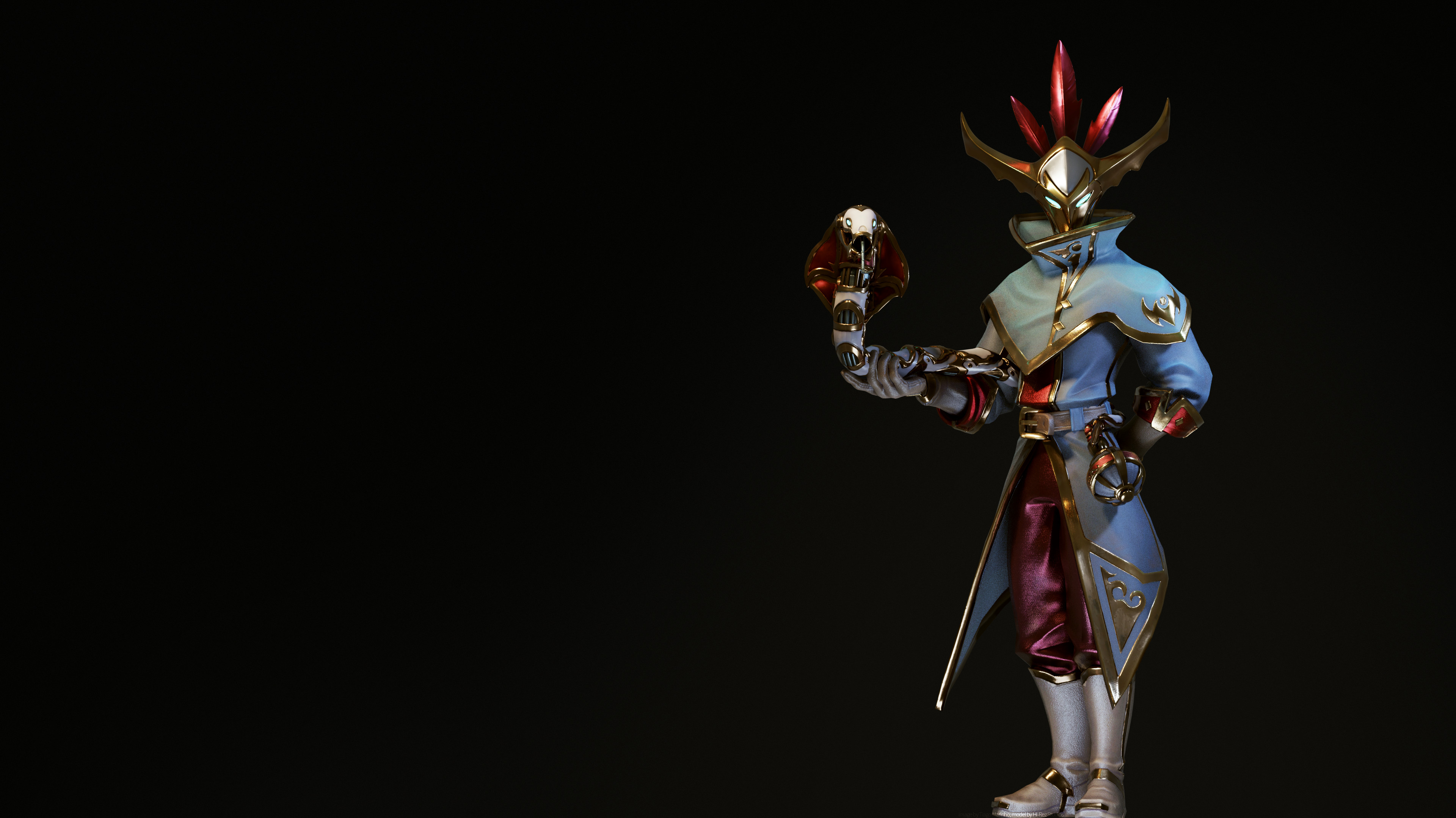 3840x2160 ARTMal'Damba Ray-Traced 4K Wallpaper ...
