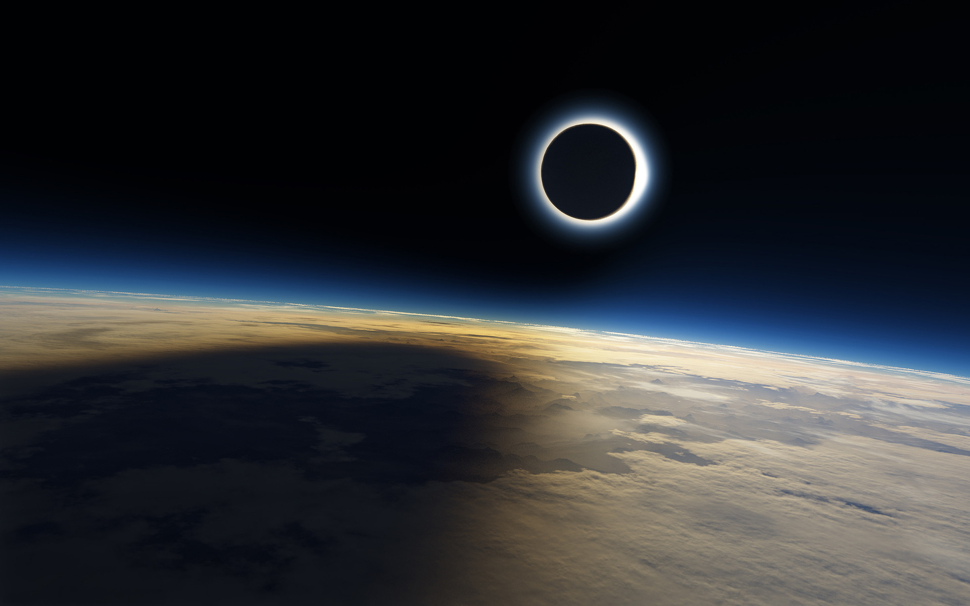 1920x1200 Solar Eclipse. Solar Eclipse Wallpaper