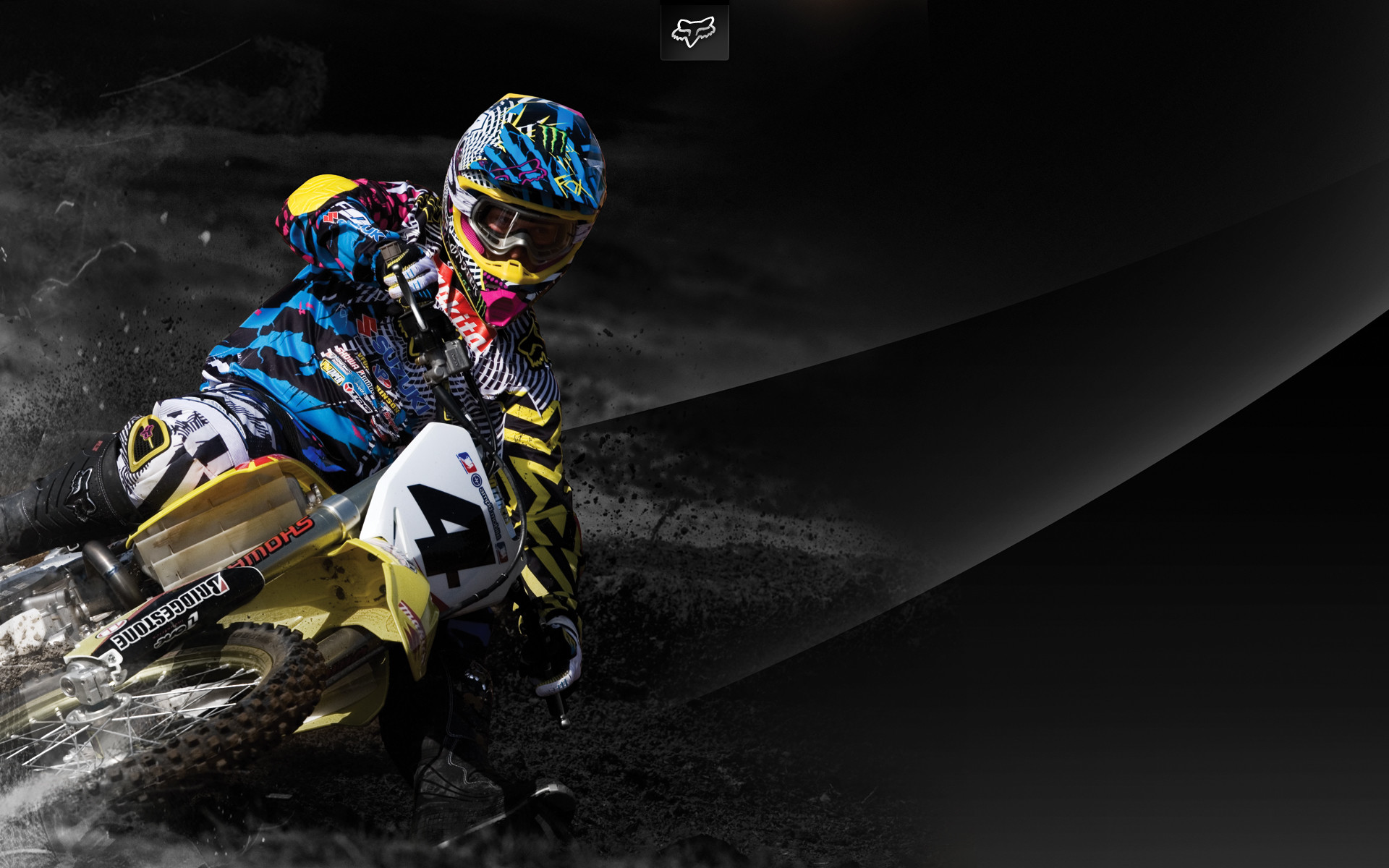 Wallpaper Motocross Bergerak