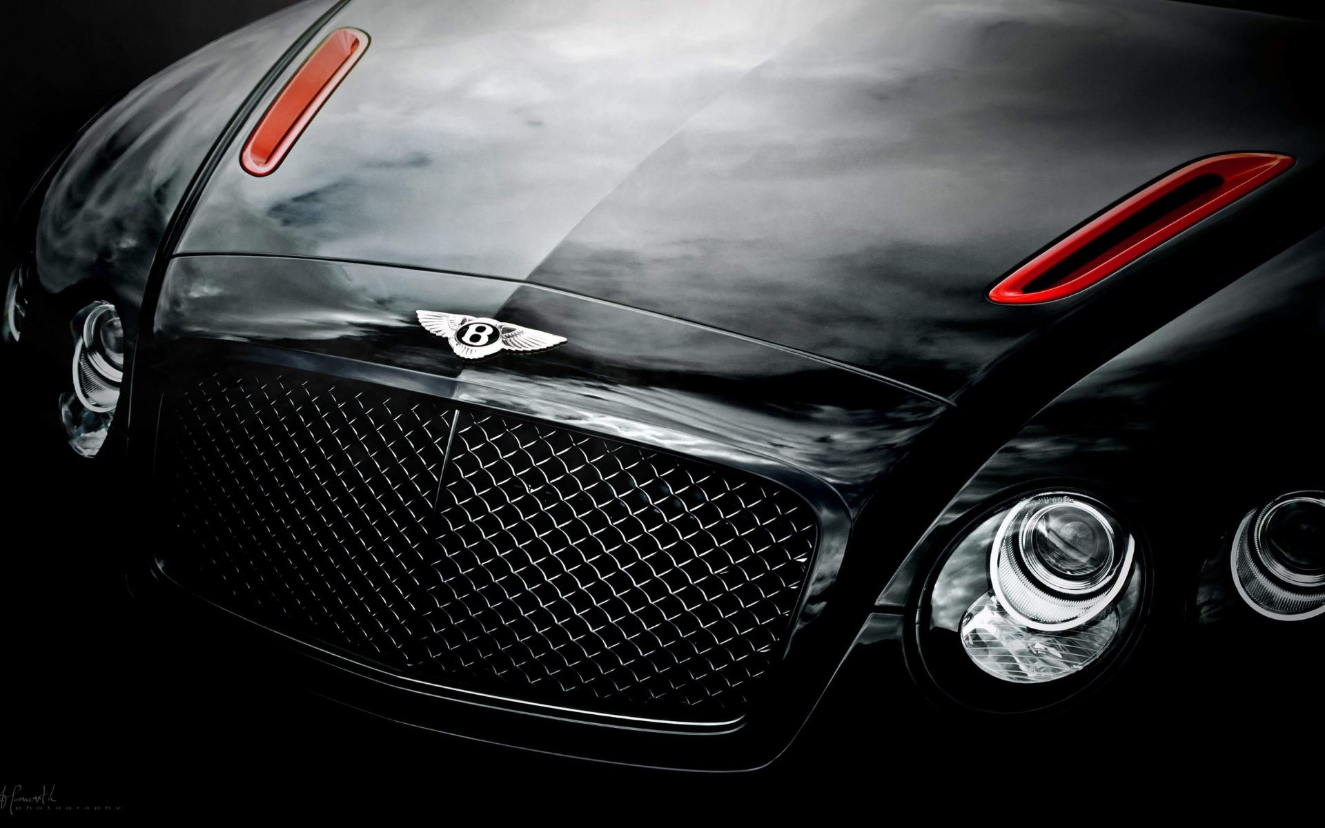 1920x1200 Black Bentley Continental GT Supersport 4K Wallpaper