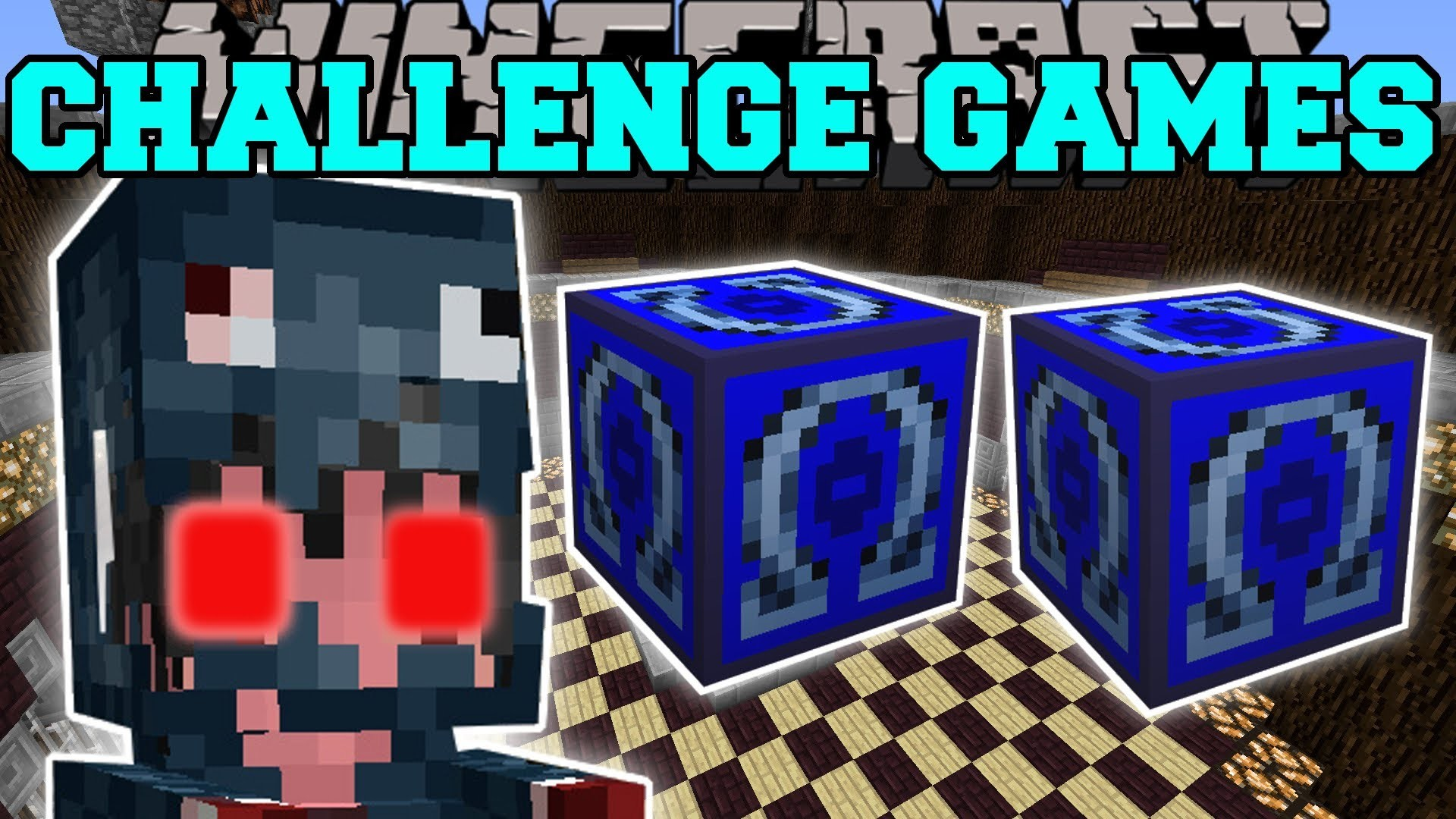1920x1080 Pat And Jen – Minecraft: MUTANT SQUID GIRL CHALLENGE GAMES – Lucky Block  Mod – Modded Mini-Game