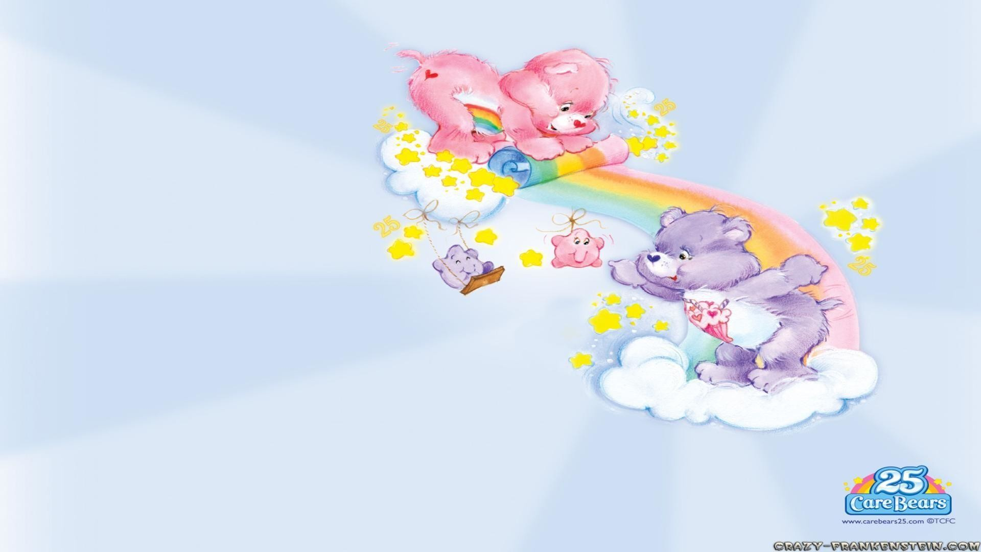 1920x1080 Clouds care bears wallpapers free desktop background - free .