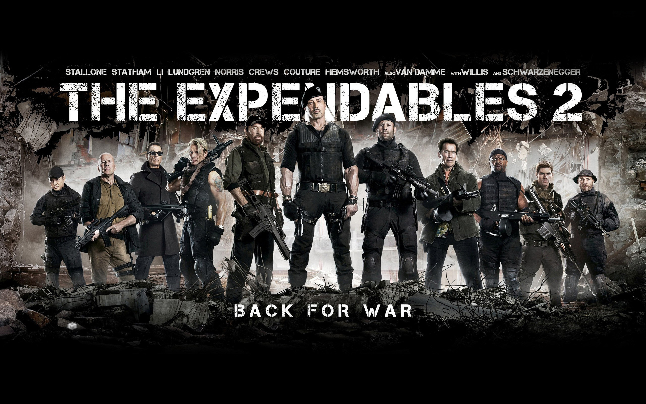 2560x1600 The Expendables