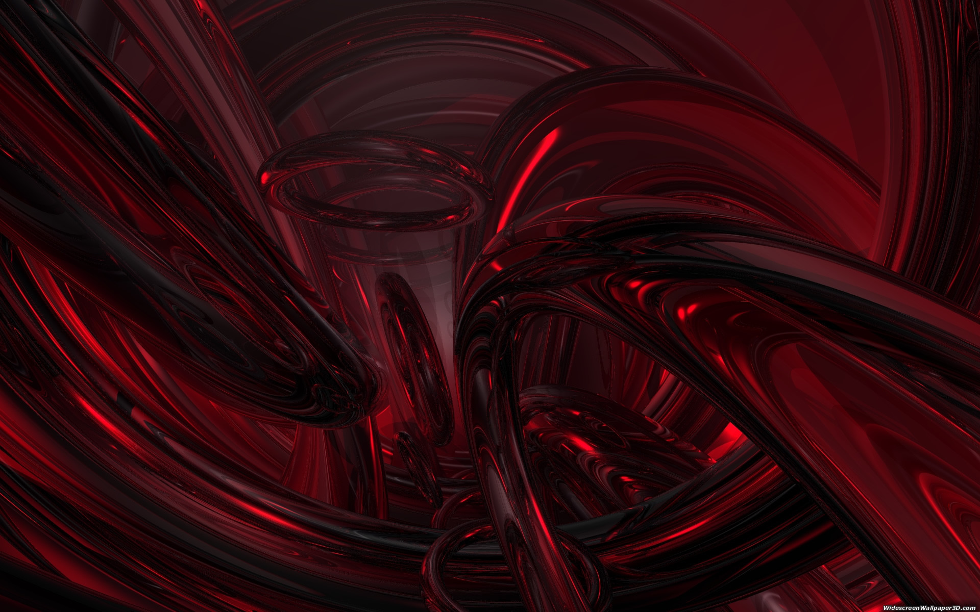 1920x1200 Bild: Red Widescreen Wallpaper wallpapers and stock photos. Â«