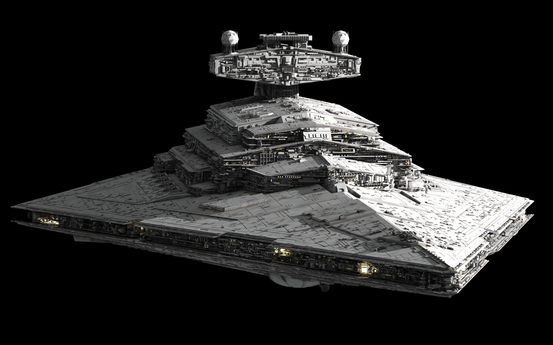1920x1200 Imperial Star Destroyer built by Ansel Hsiao (Fractalsponge .