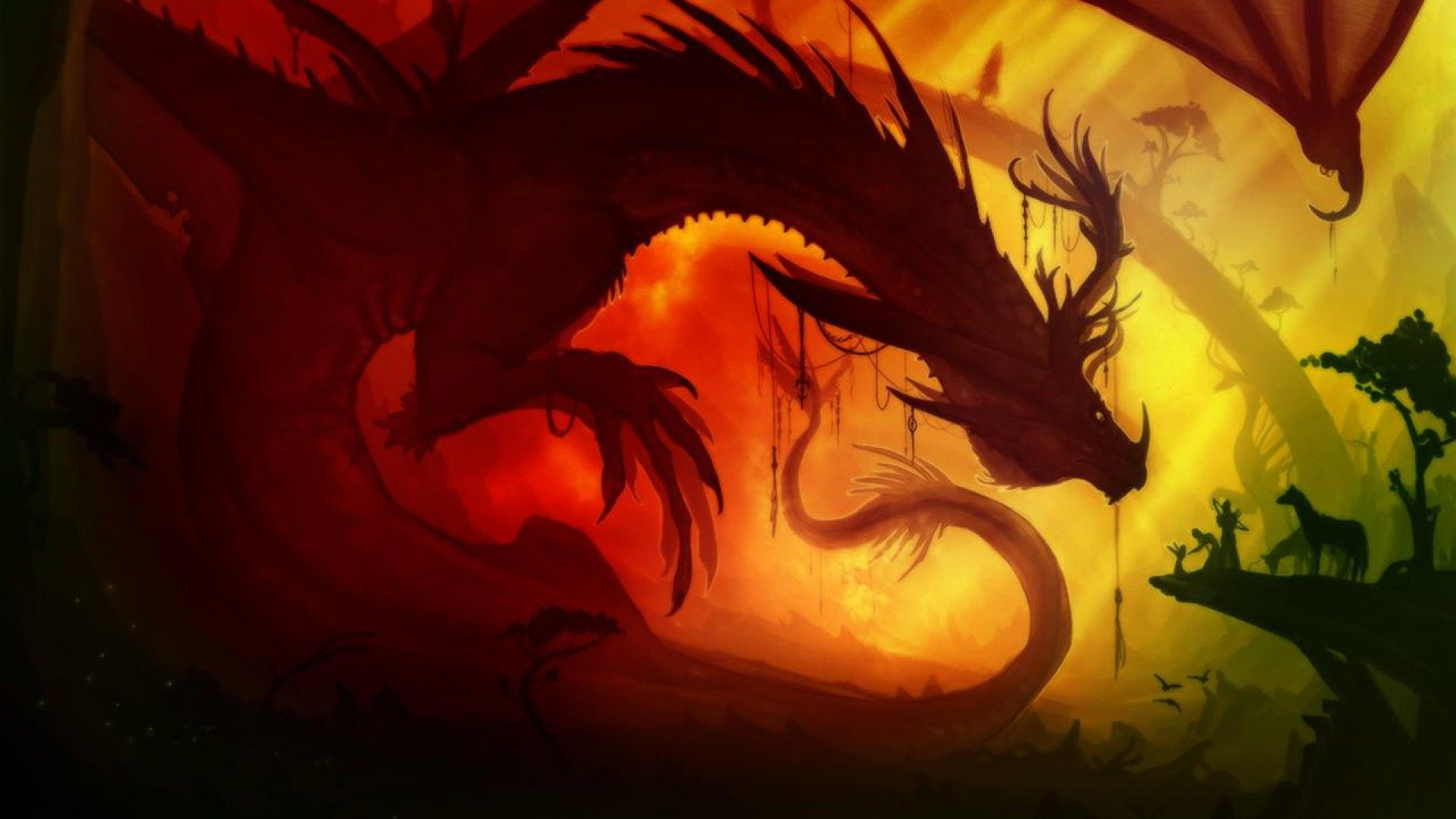 Red Dragon Wallpapers 60 Images