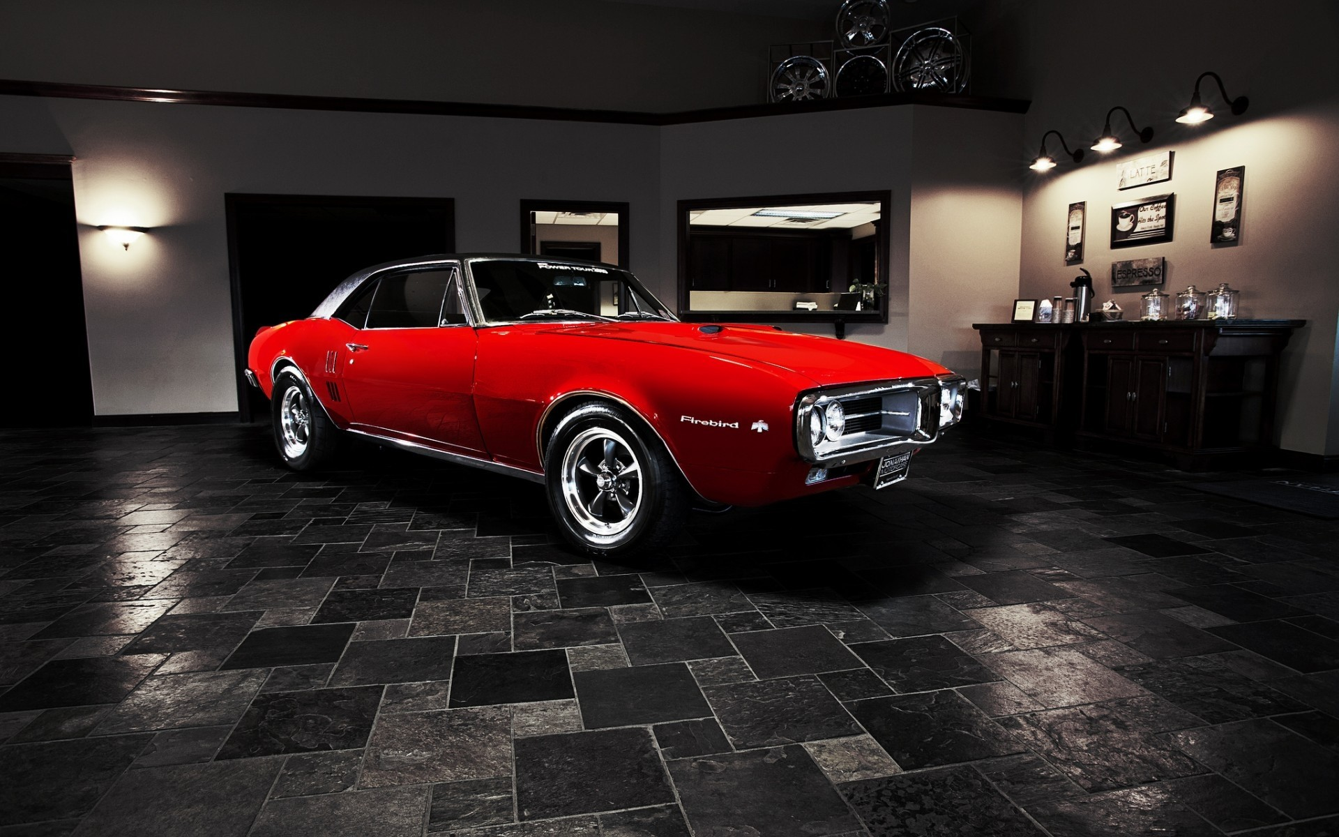 Bon 1920x1080 Pontiac Firebird Muscle Retro Crystal City Car 2014  .