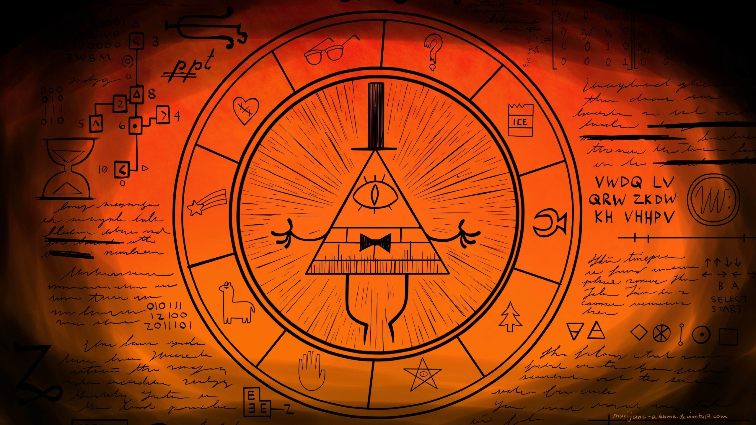 2560x1440 Gravity Falls Bill Cipher Wallpaper 80 Images