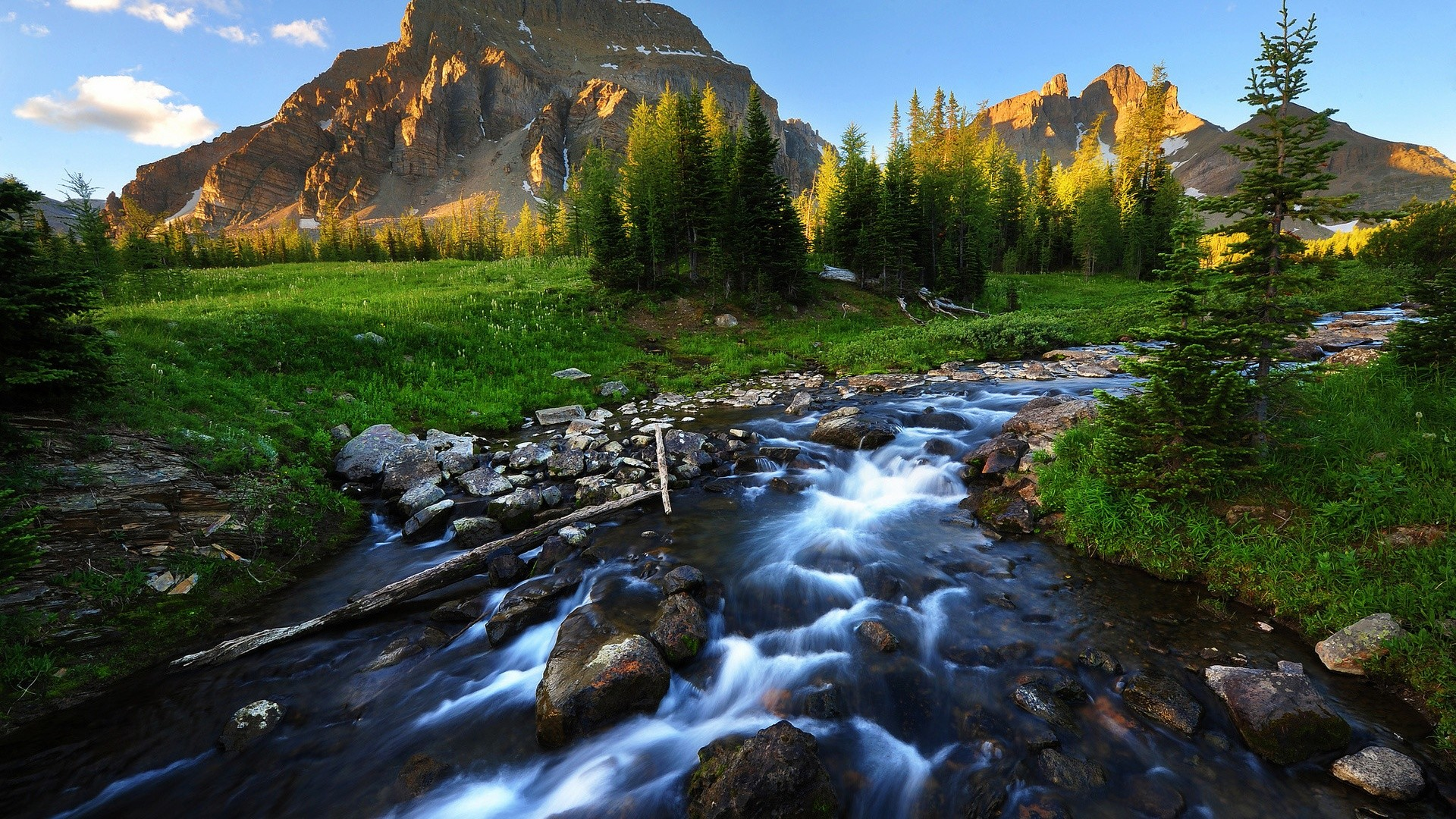 Mountain River Hd Wallpaper: Landscape HD Wallpapers 1080p (81+ Images