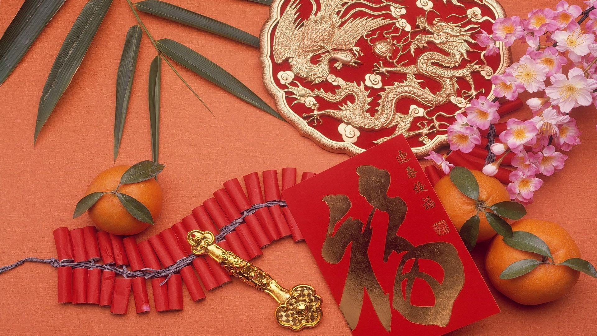 1920x1080 Chinese New Year High Definition Wallpaper