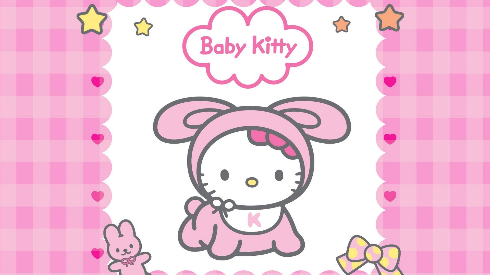 1920x1080 Hello Kitty Background Wallpaper HD with image resolution  pixel.  You can make this wallpaper