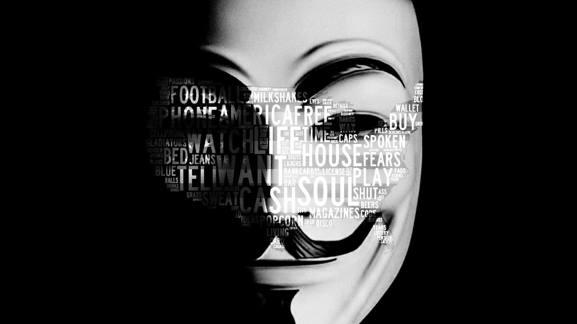 Anonymous HD Wallpaper 2560x1600