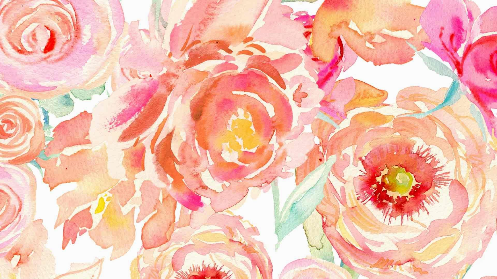 1920x1080 Peach-peony-large-screen
