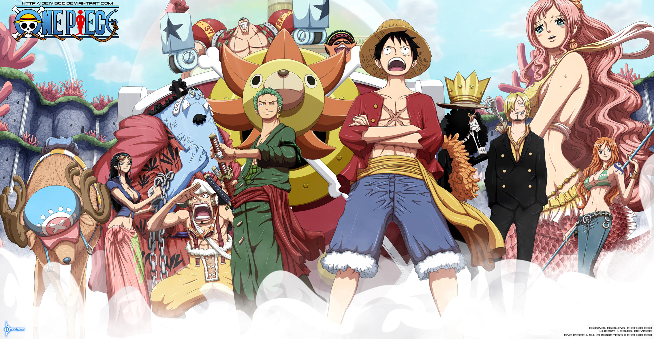 2268x1175 Anime One Piece · HD Wallpaper | Background Image ID:183401
