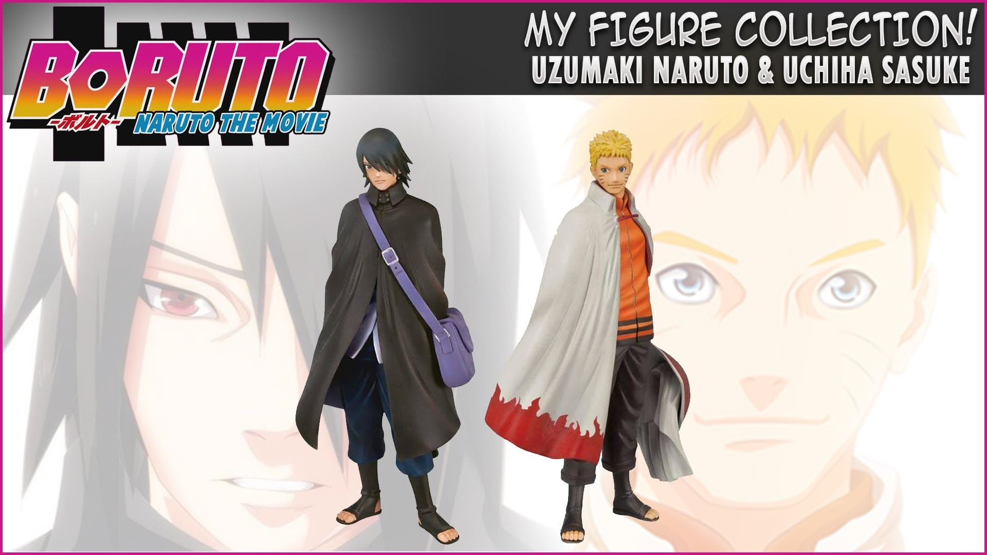 1920x1080 Uzumaki Naruto & Uchiha Sasuke - Boruto: Naruto the Movie [Banpresto  Figures] - YouTube