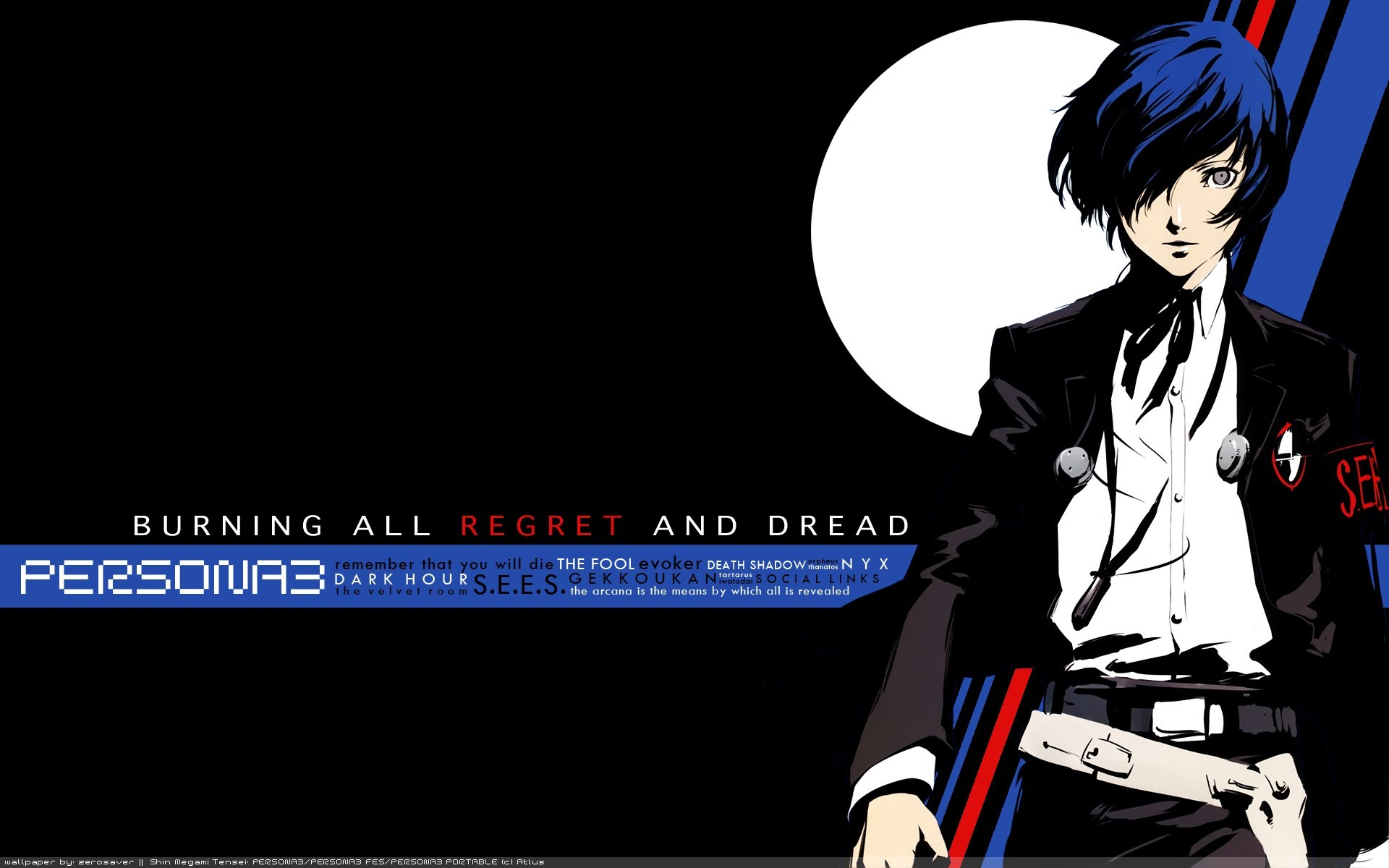 1920x1200 desktop wallpaper for persona 3 - persona 3 category