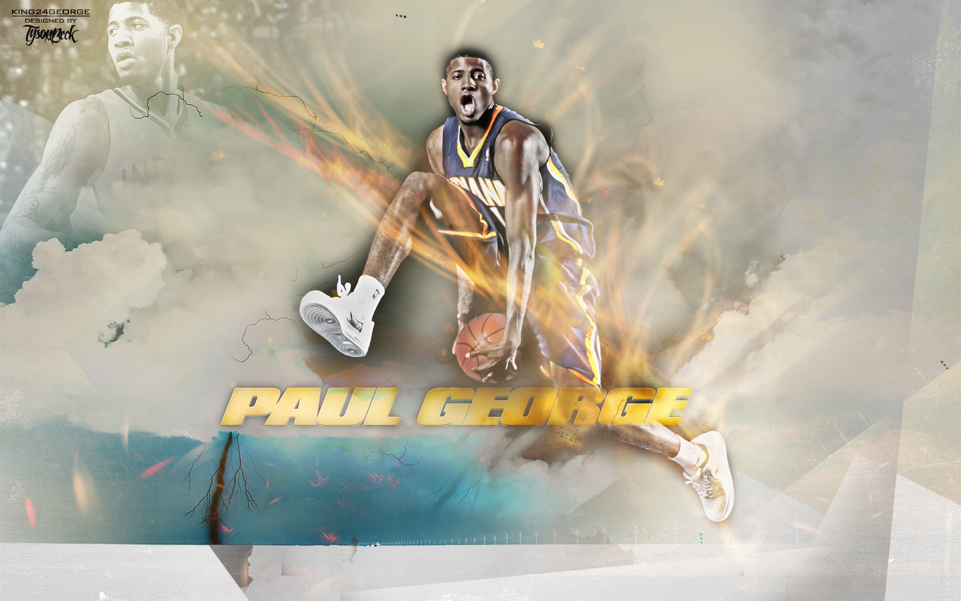1920x1200 Paul George wallpaper - 564491