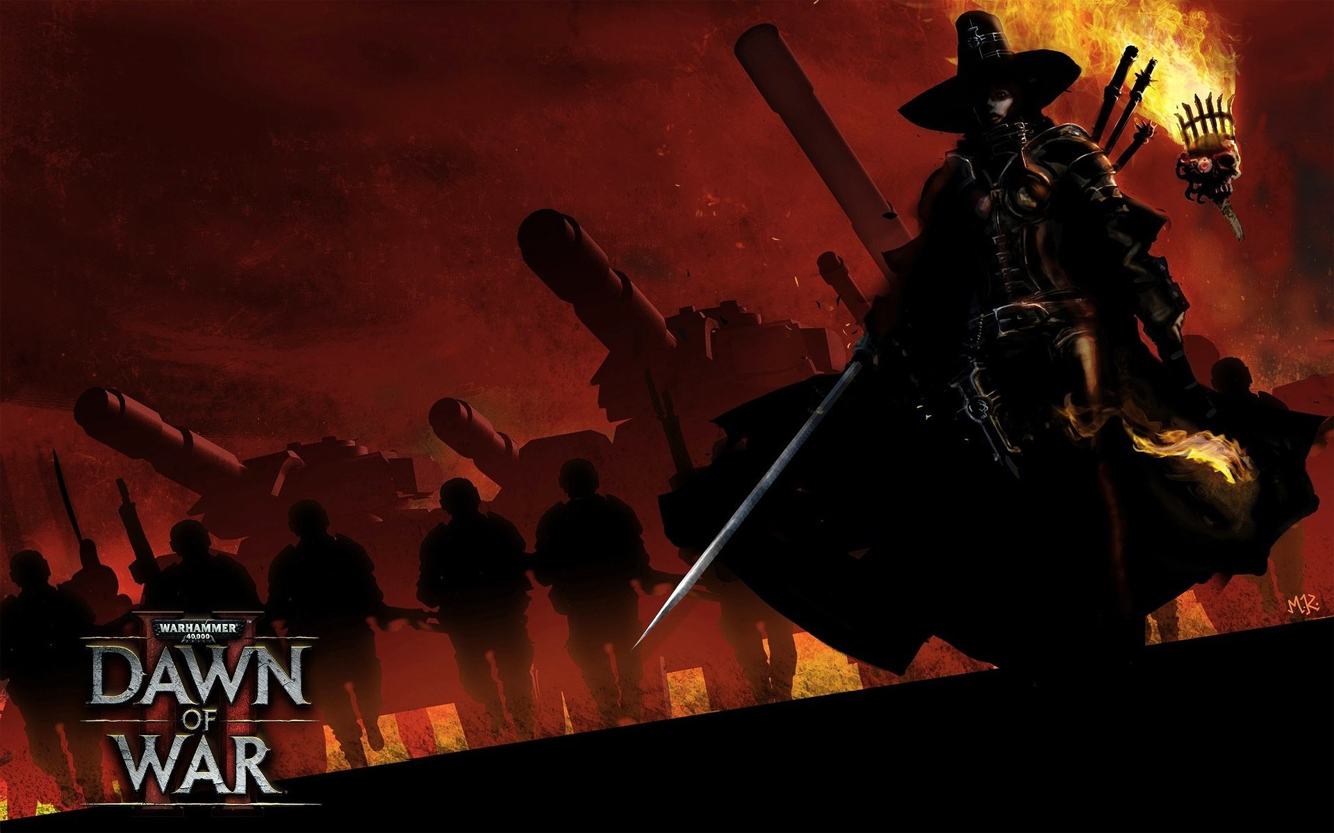 1920x1200 Wallpaper zu Warhammer 40.000: Dawn of War 2 - Retribution herunterladen