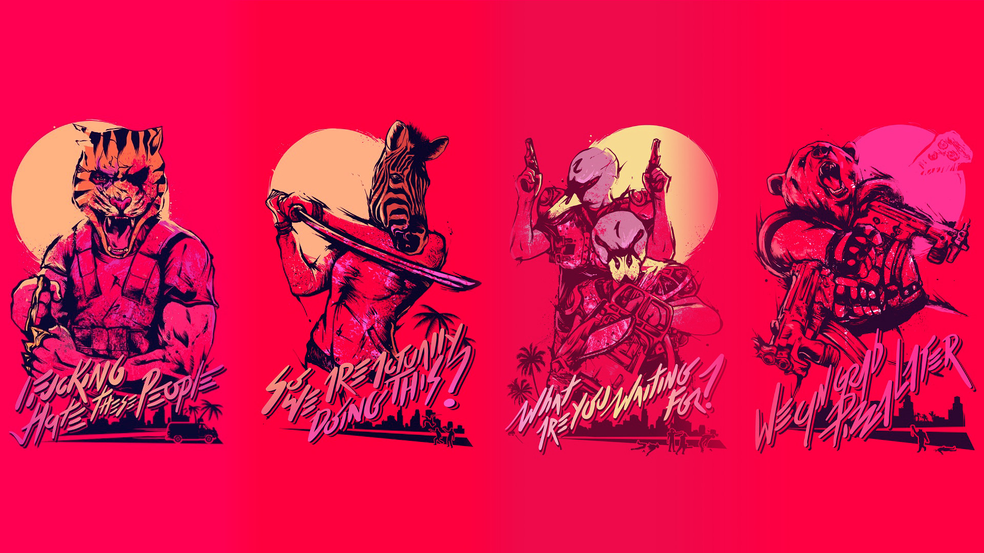 Jacket Hotline Miami Wallpapers (77+ images)