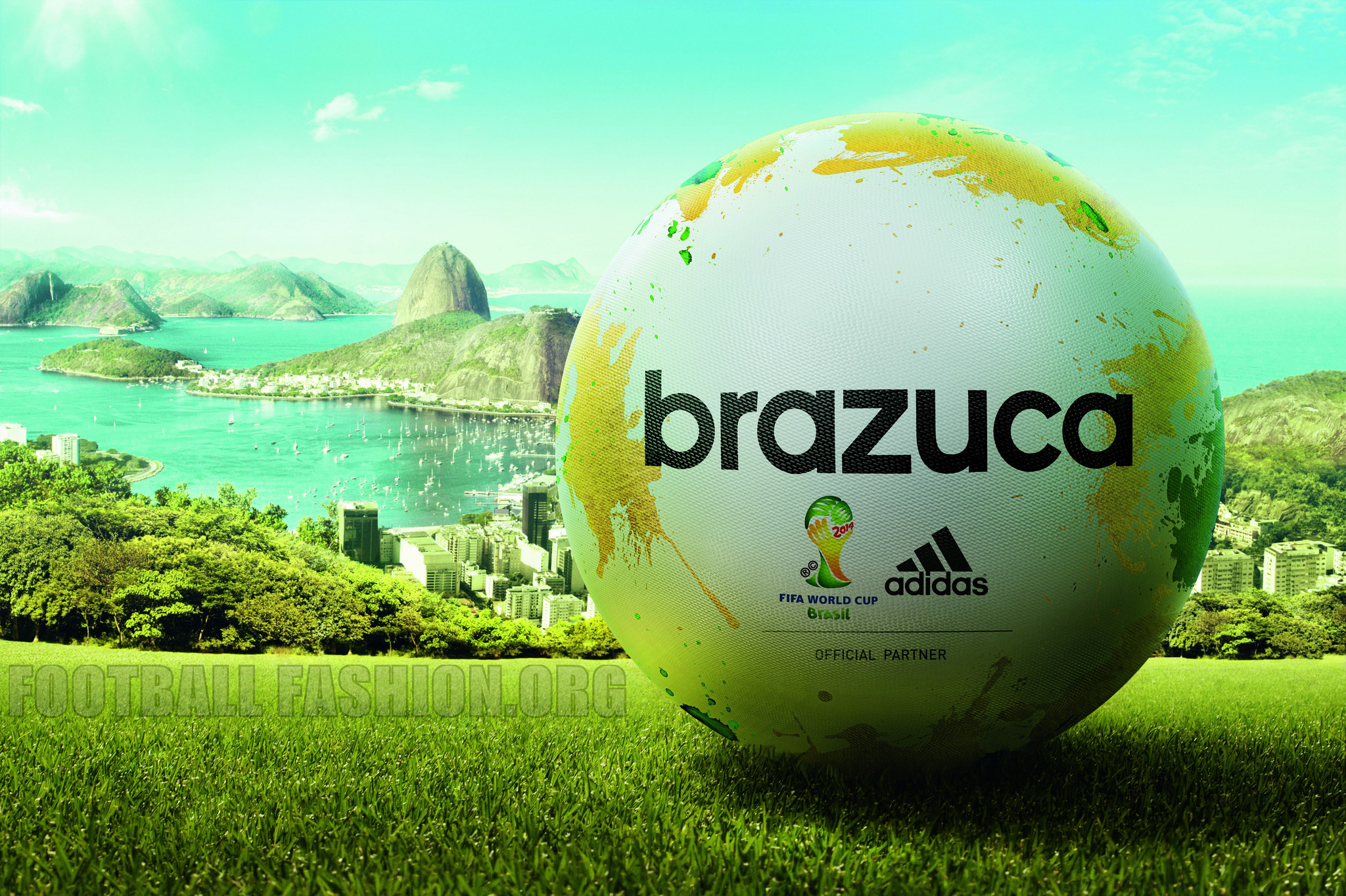 2048x1365 FIFA World Cup 2014 Ball