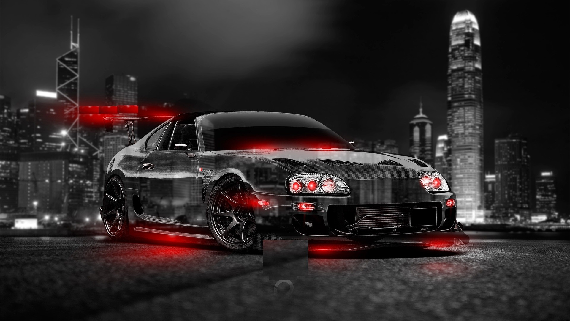 1920x1080 Abstract toyota supra HD Wallpaper