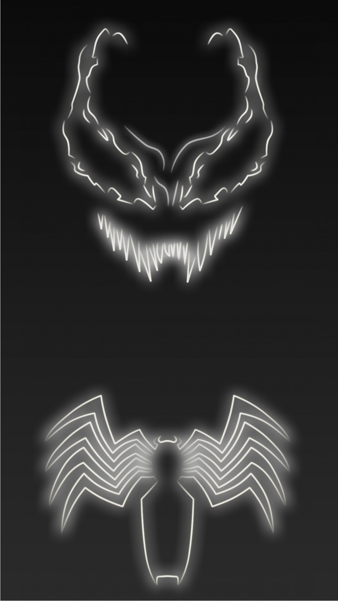 1080x1920 Neon Light Venom
