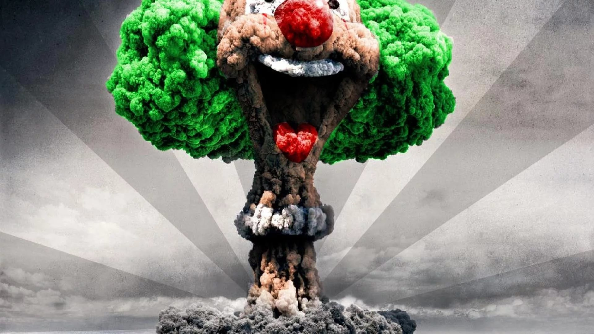 1920x1080 ... Mushroom Clouds Wallpaper ...