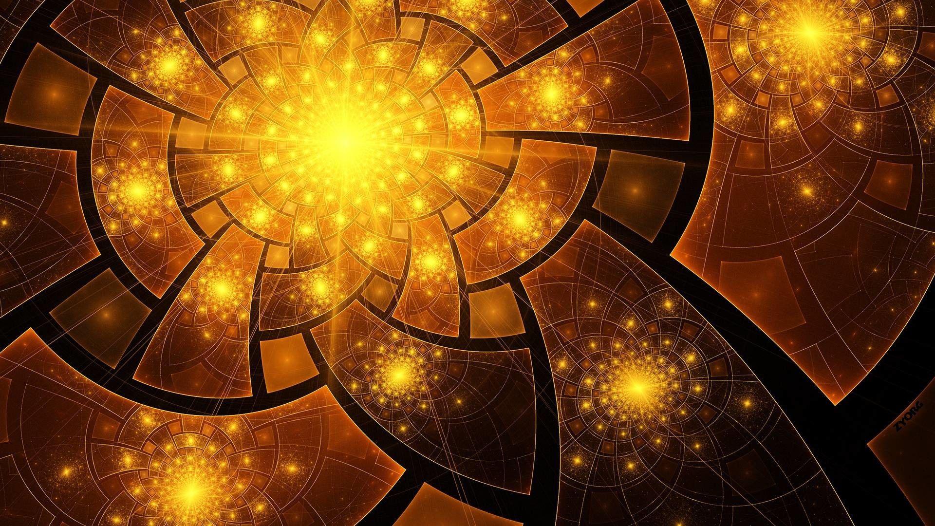 1920x1080 Hd Wallpapers For Your Desktop: Fractal Desktop Backgrounds (72+ Images
