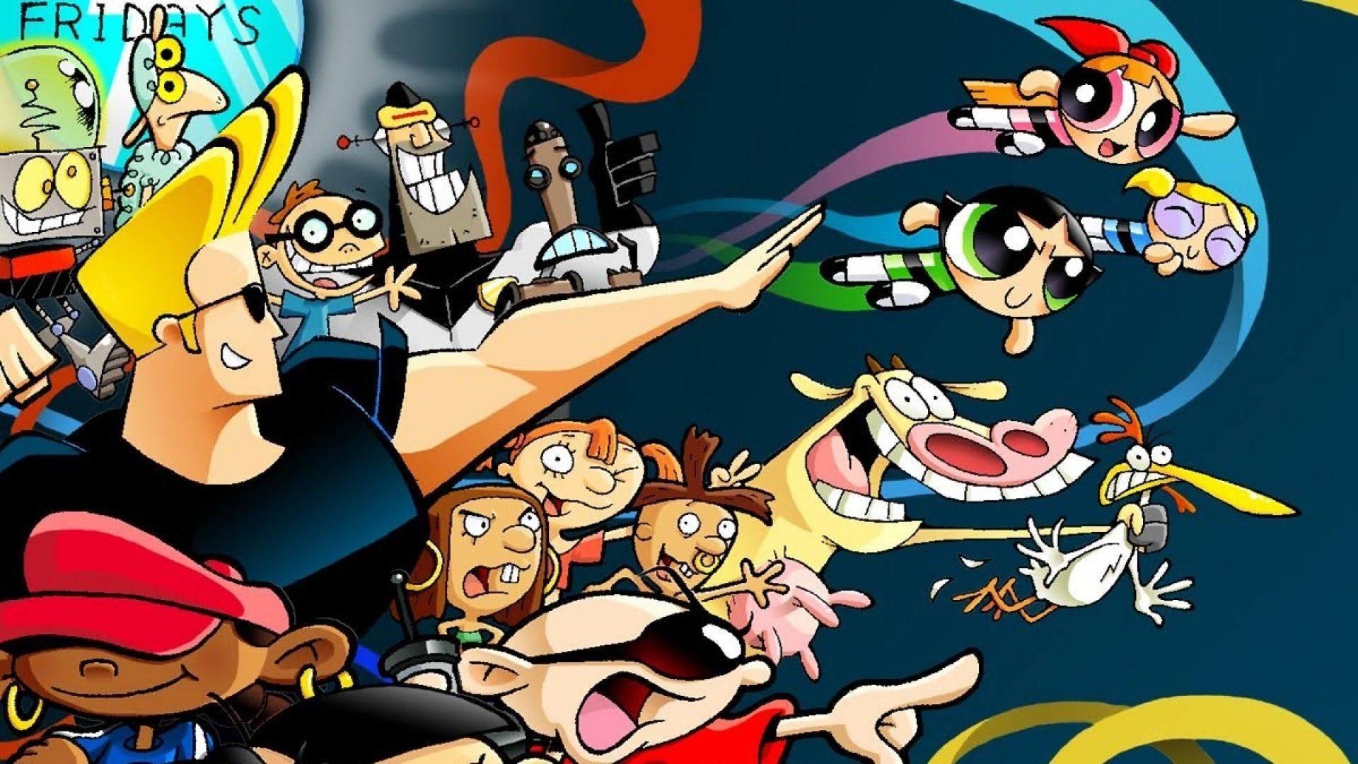 1920x1080 ... free download cartoon network wallpaper pixelstalk net ...