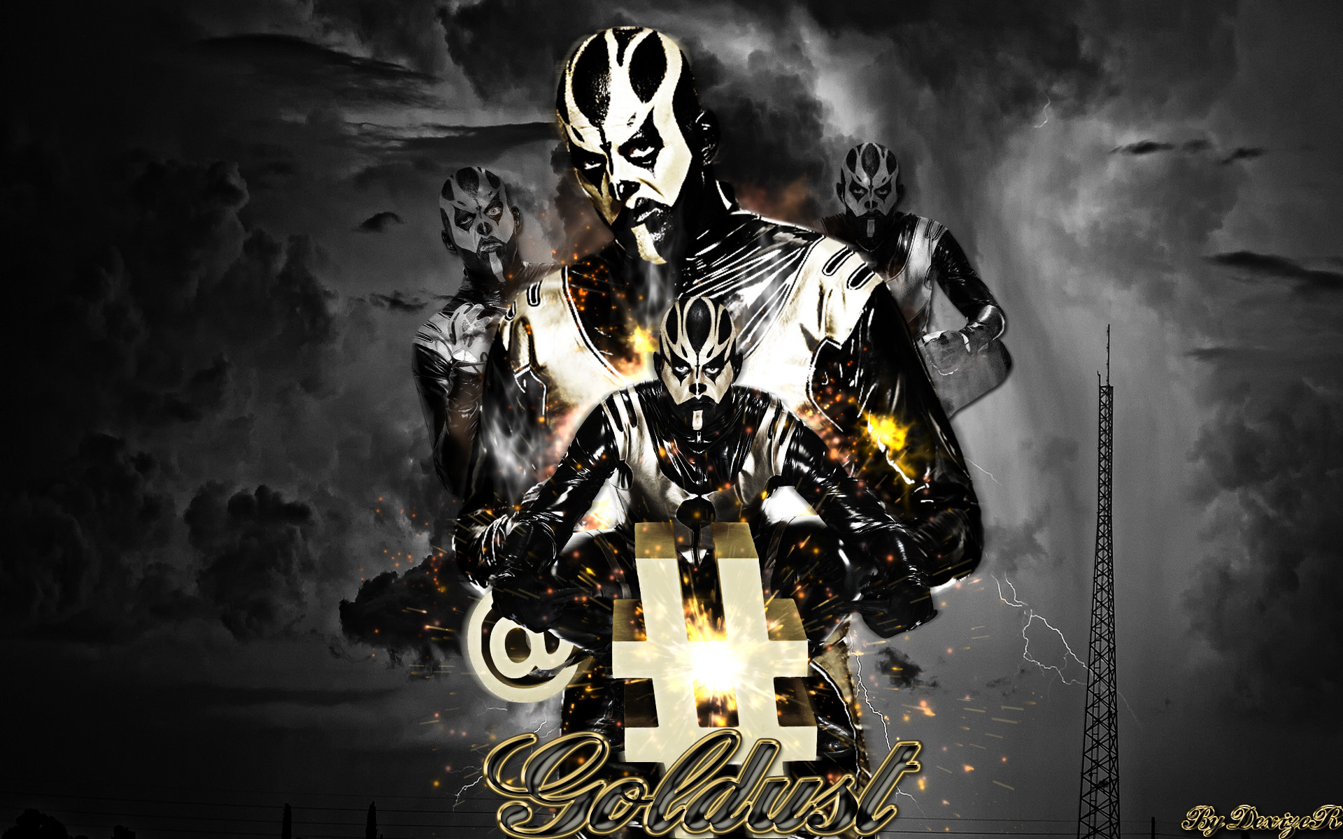 1920x1200 ... New WWE Goldust 2014 HD Wallpaper by SmileDexizeR