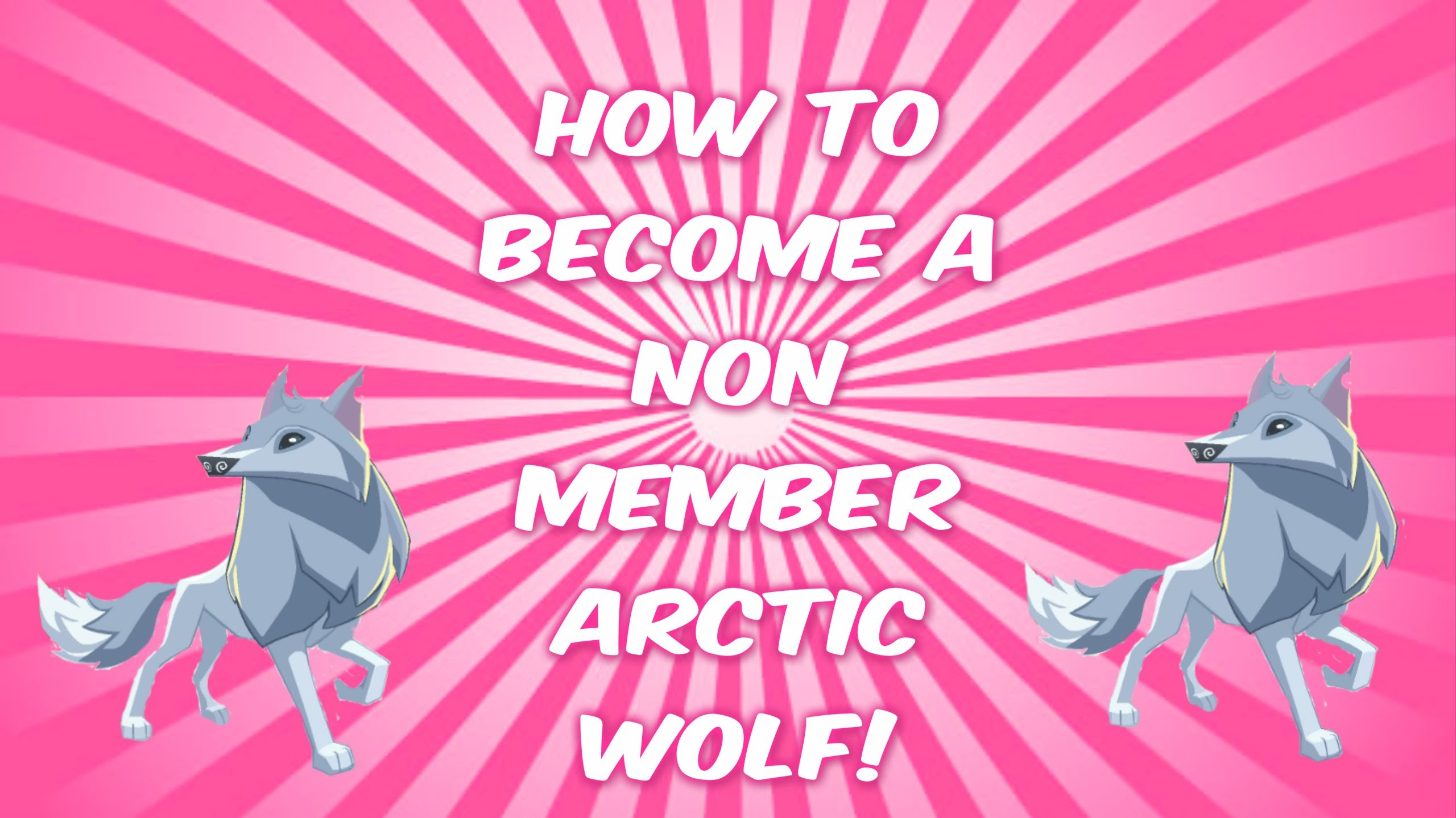 2560x1440 Animal Jam: HOW TO BE A NON-MEMBER ARCTIC WOLF (WORKING 2016) - YouTube