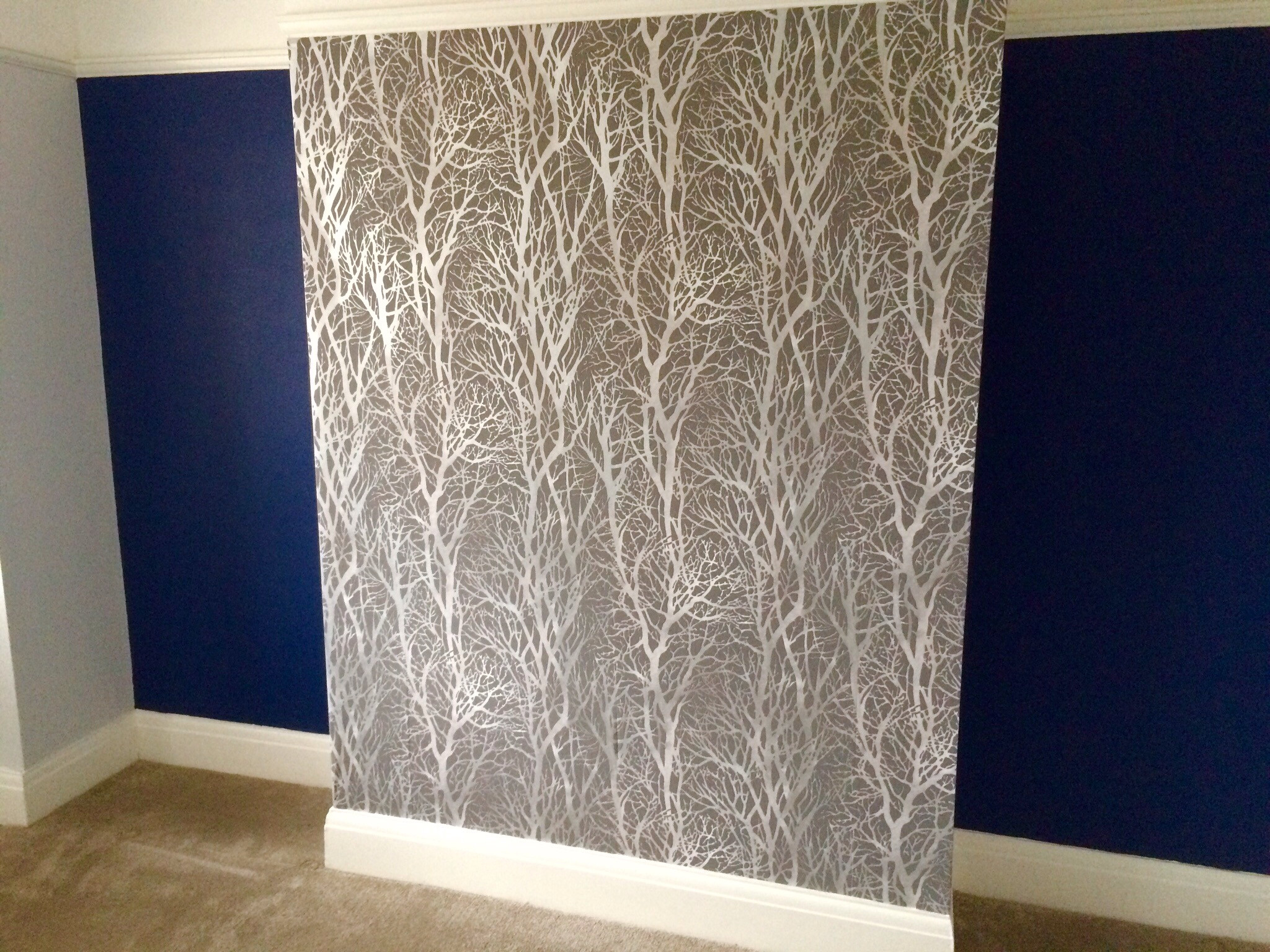 Navy blue wallpaper for walls - 1920x1200 Wallpaper Christmas Silver And Blue
