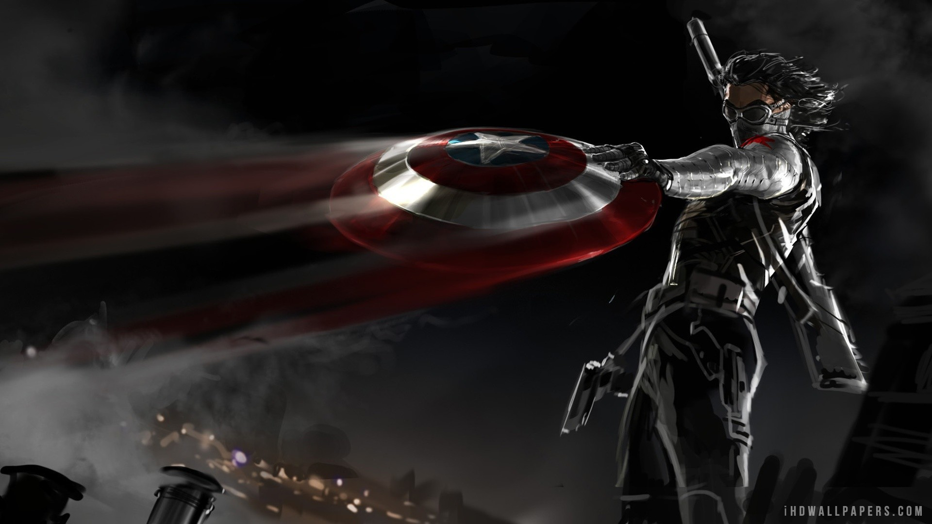 Res: 1920x1080, 79 Captain America: The Winter Soldier HD Wallpapers | Backgrounds -  Wallpaper Abyss