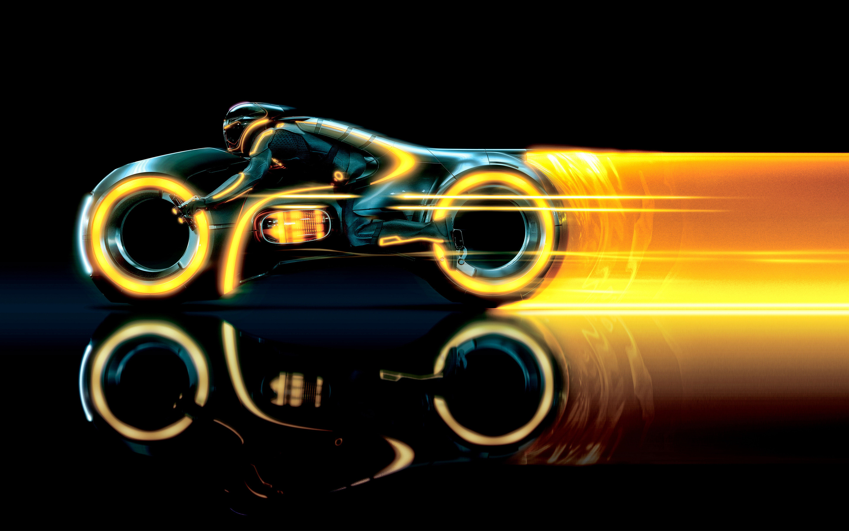 2880x1800 Tron Legacy Lightcycle