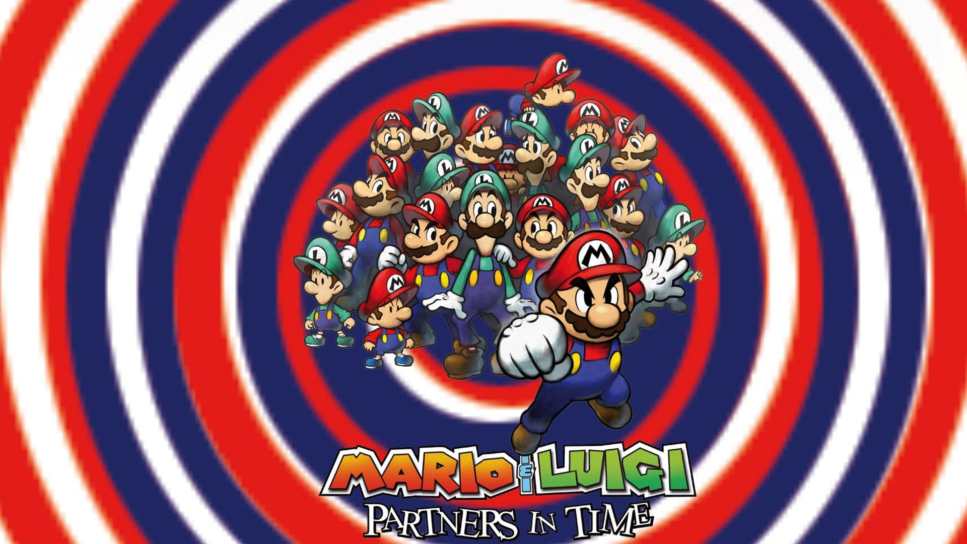 1920x1080 Video Game - Mario & Luigi: Partners In Time Wallpaper