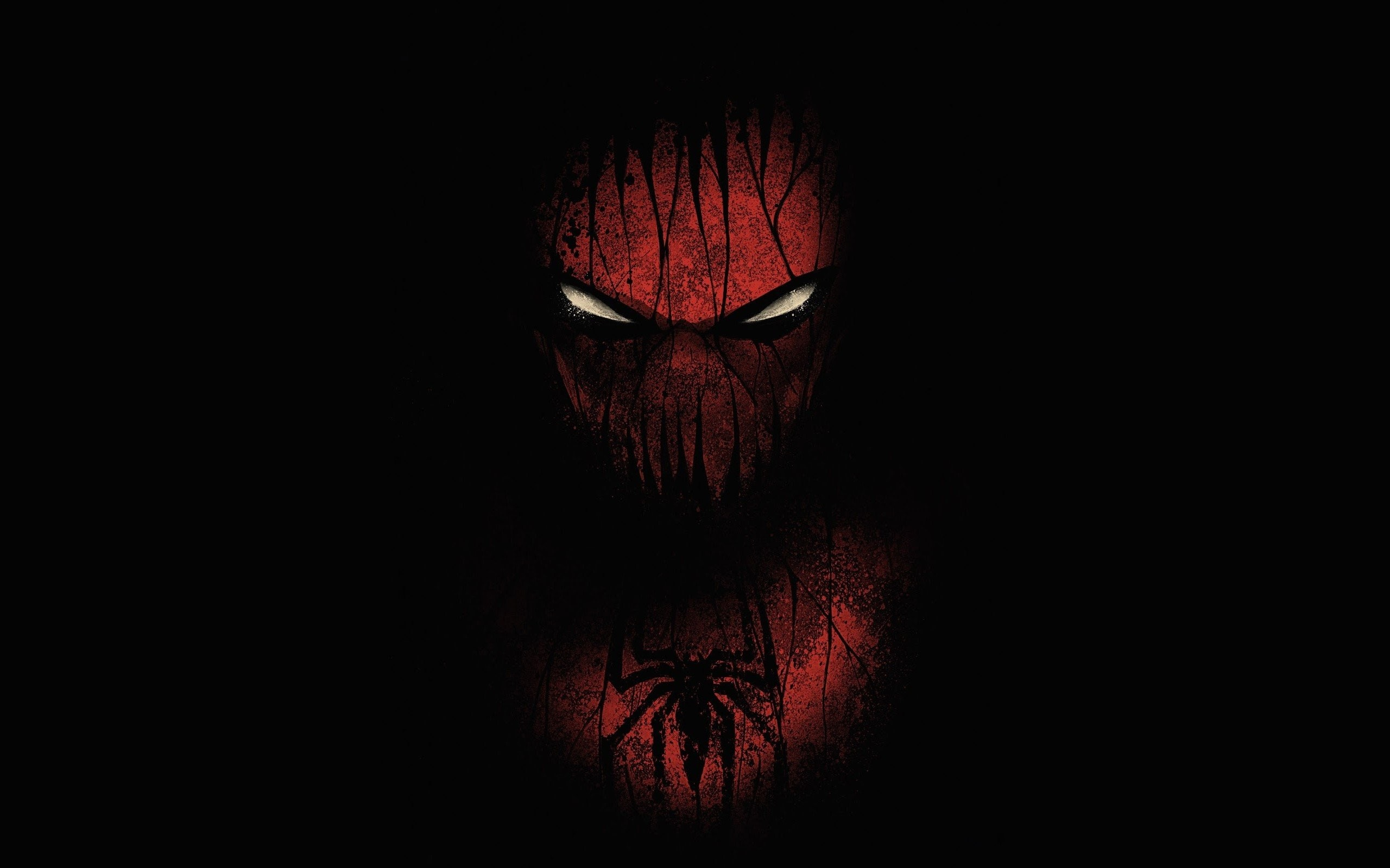 2560x1600 Black Spider Man Wallpapers.