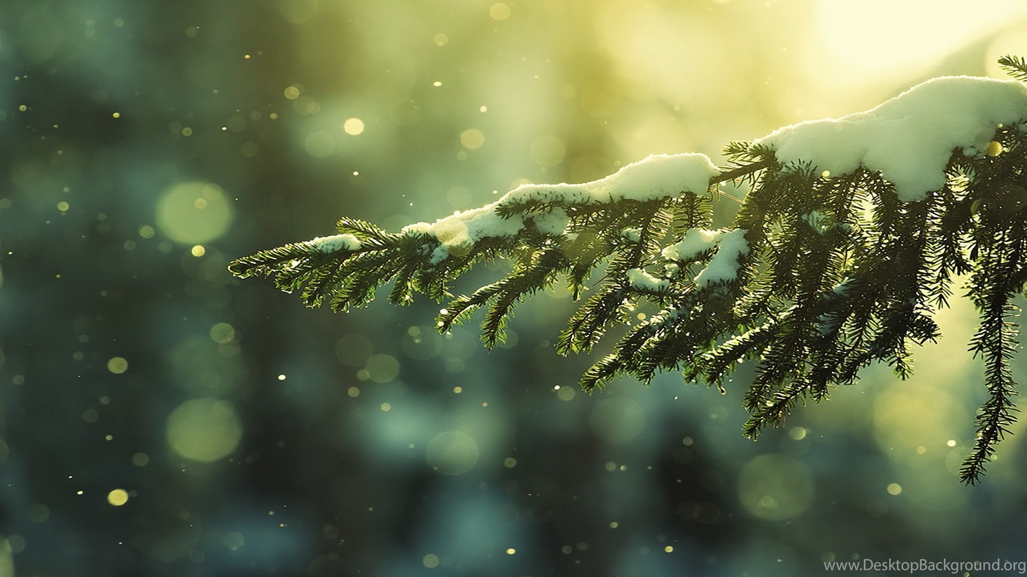 2048x1152 Dual Monitor Christmas Wallpaper