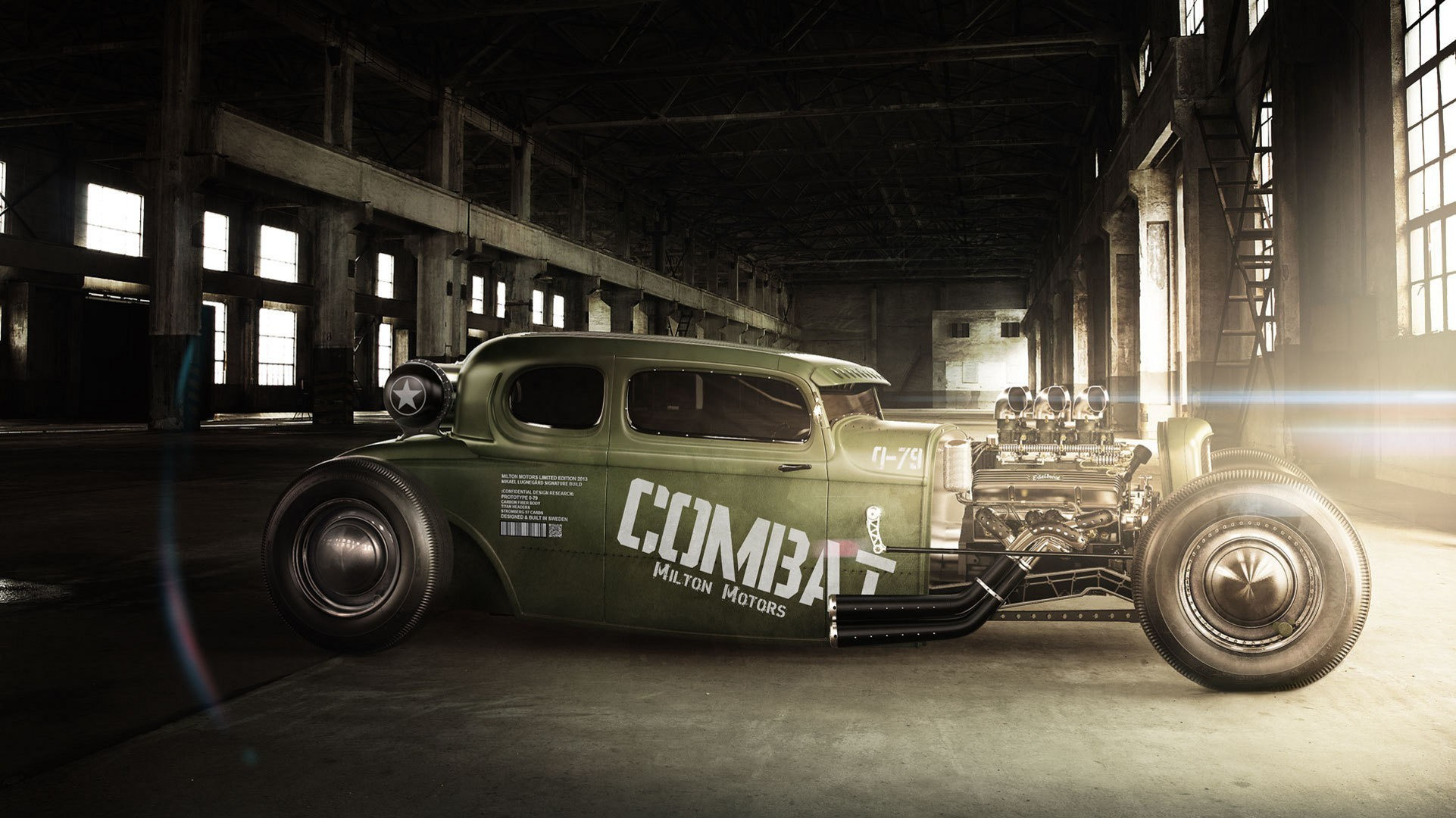 1922x1080 car, Hot Rod, Modified, Green cars, Muscle cars Wallpapers HD / Desktop and  Mobile Backgrounds