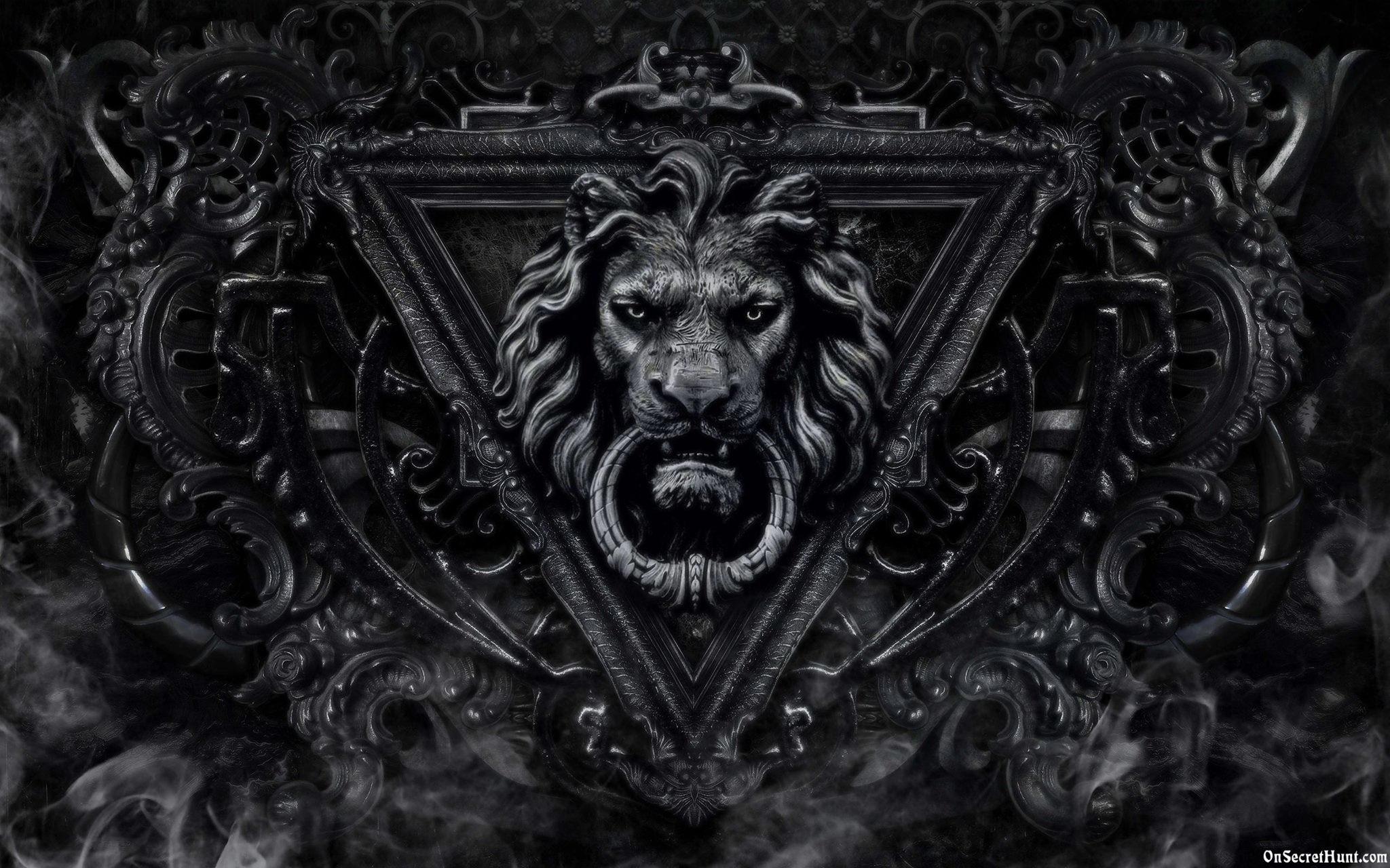Black Lion Wallpaper Desktop